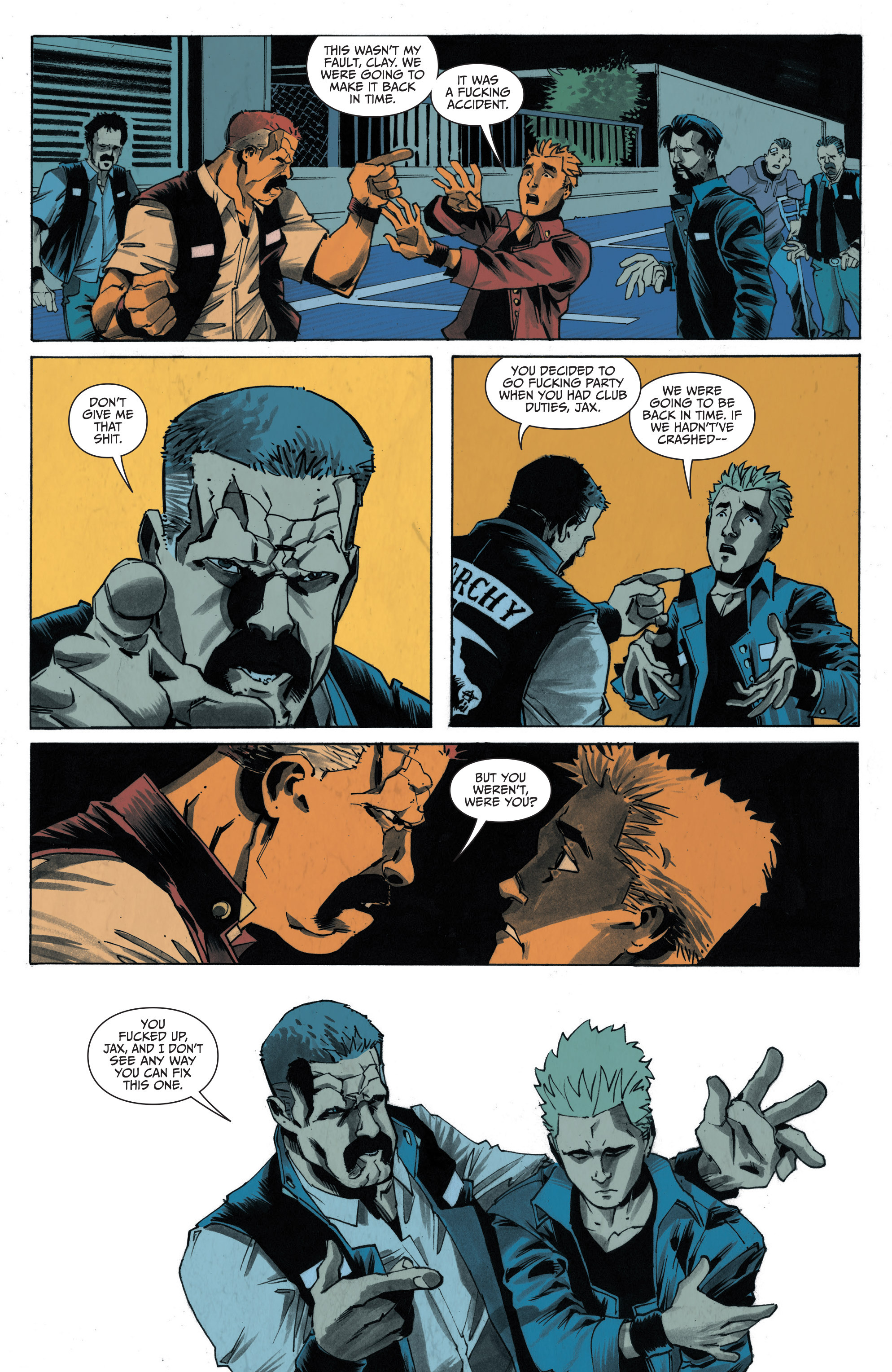 Read online Sons of Anarchy: Redwood Original comic -  Issue #4 - 22