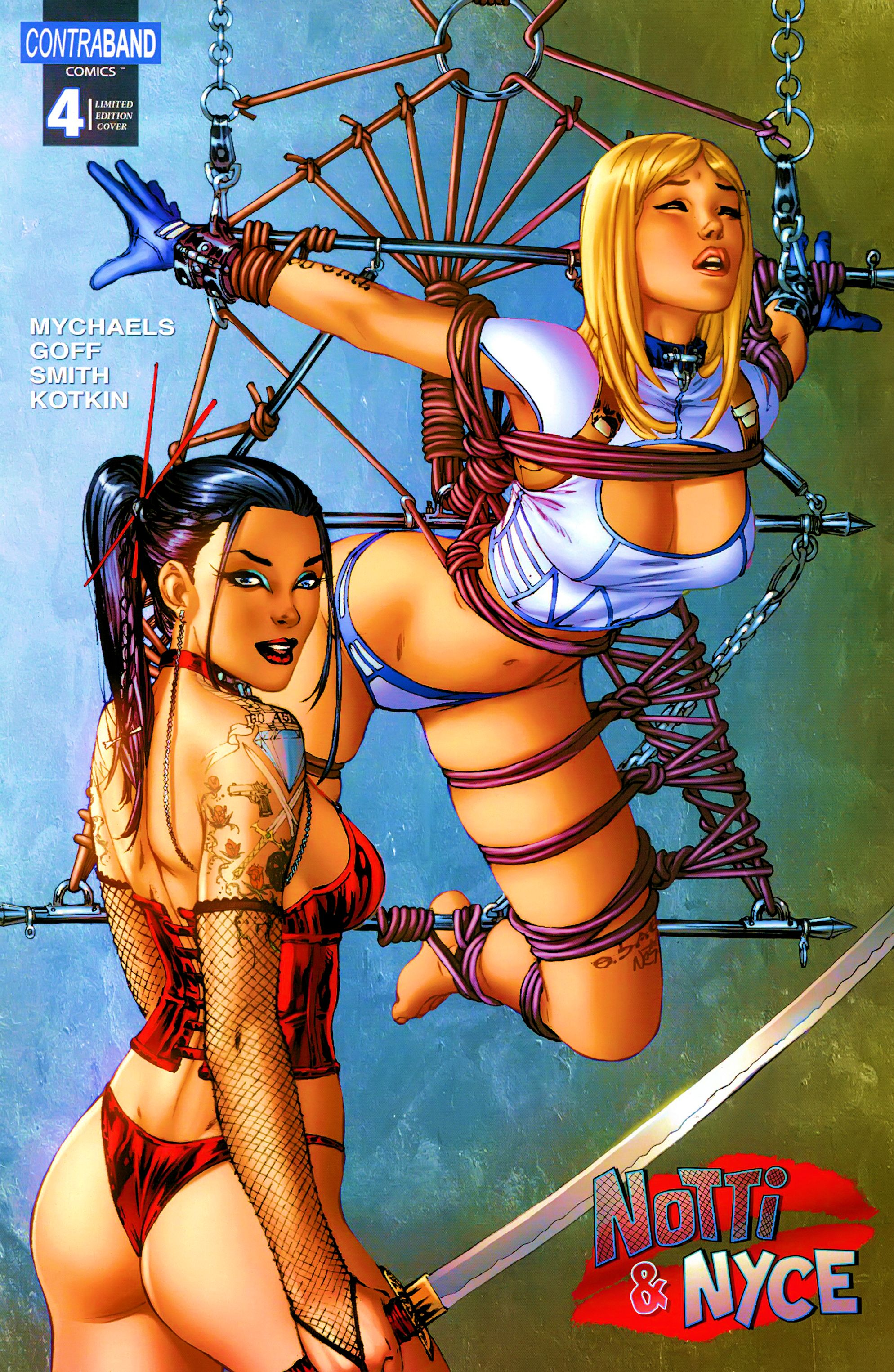 Read online Notti & Nyce comic -  Issue #4 - 1