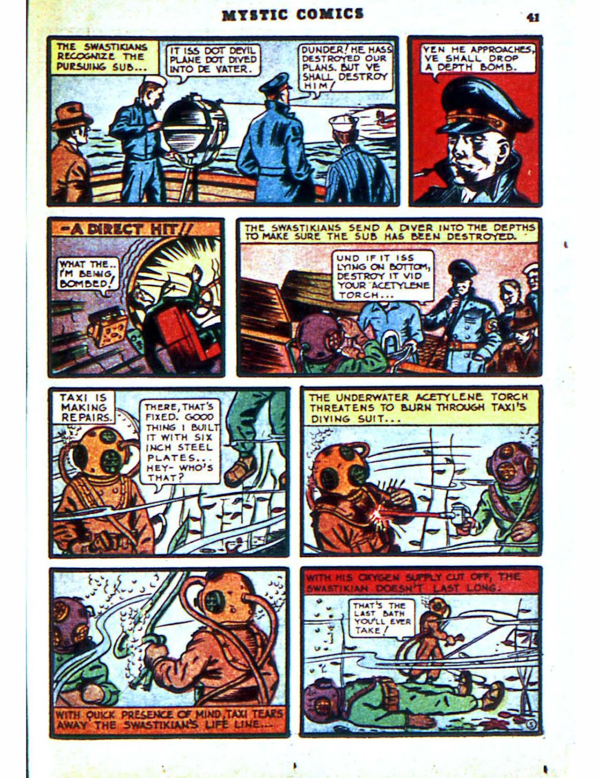 Mystic Comics (1940) issue 2 - Page 43