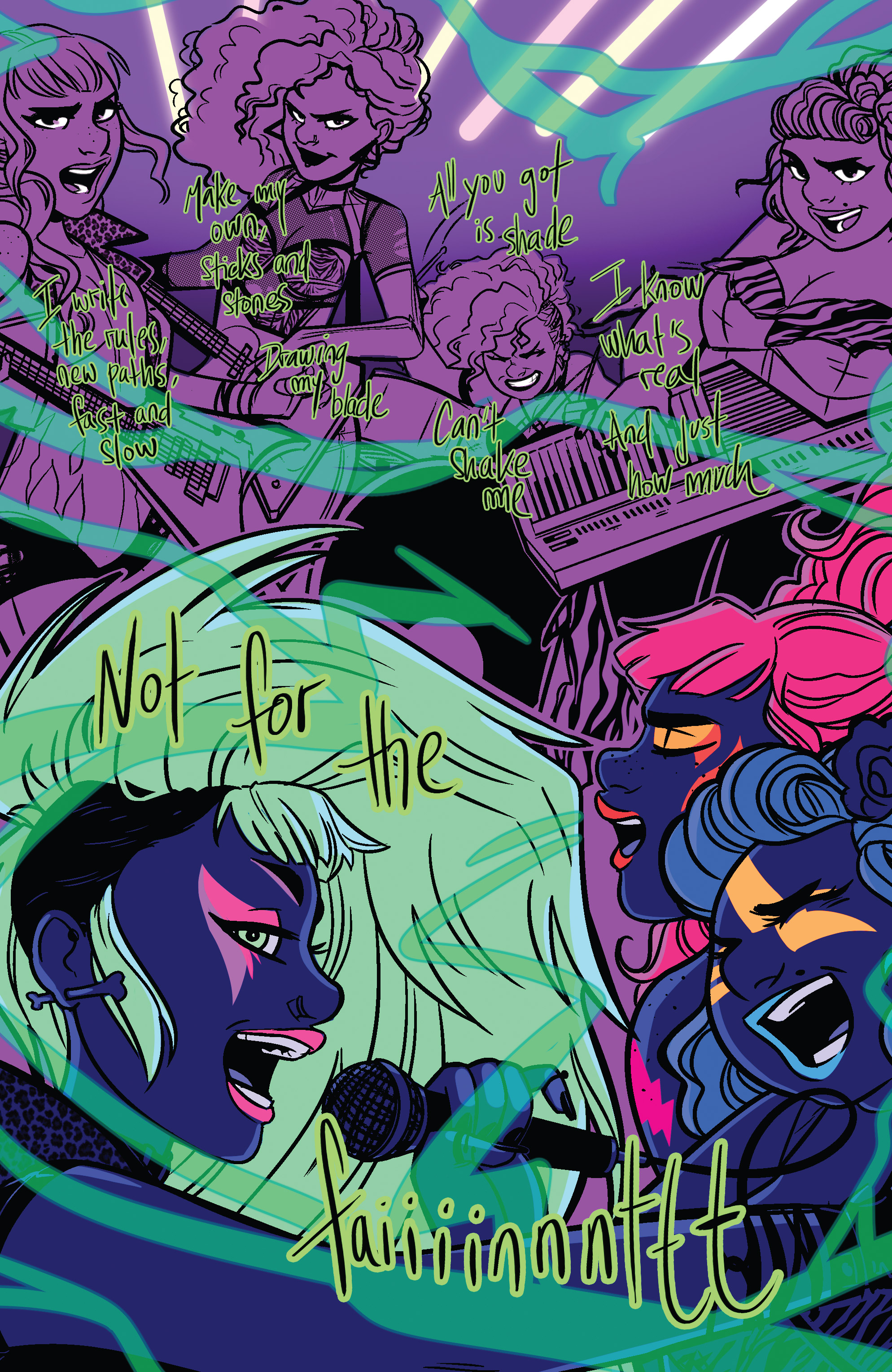 Read online Jem: The Misfits comic -  Issue #5 - 21
