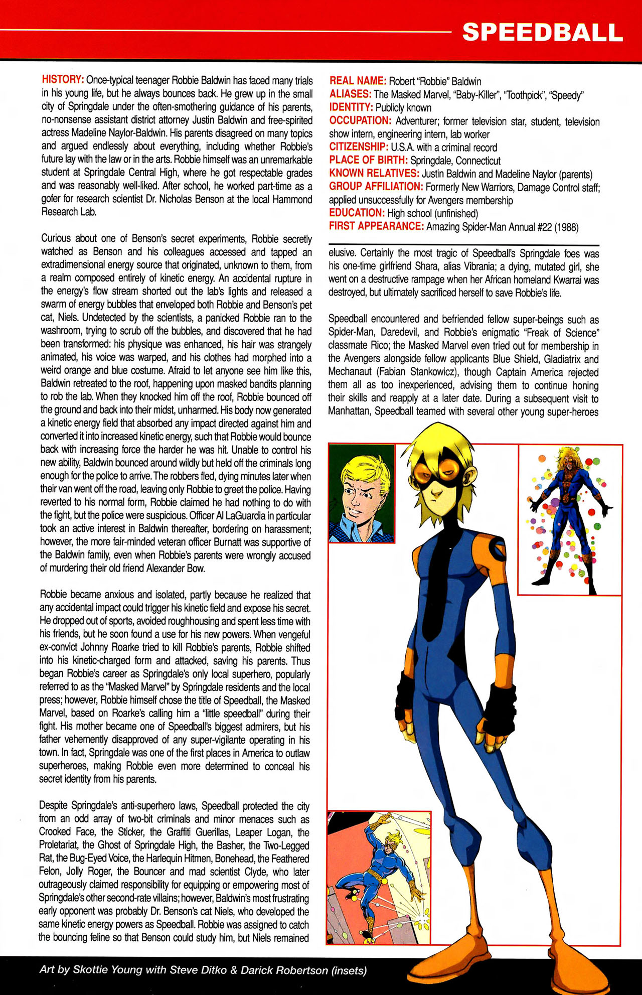 Read online All-New Official Handbook of the Marvel Universe A to Z comic -  Issue #10 - 35