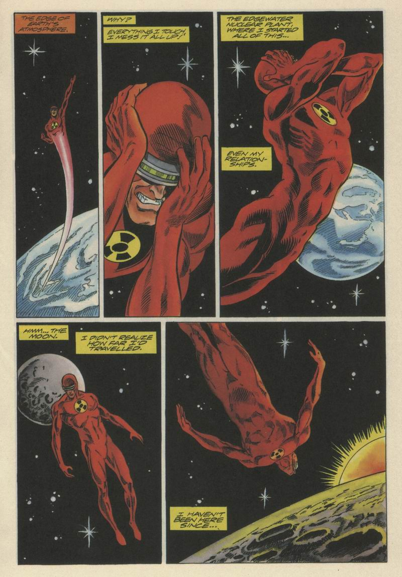 Read online Solar, Man of the Atom comic -  Issue #21 - 9