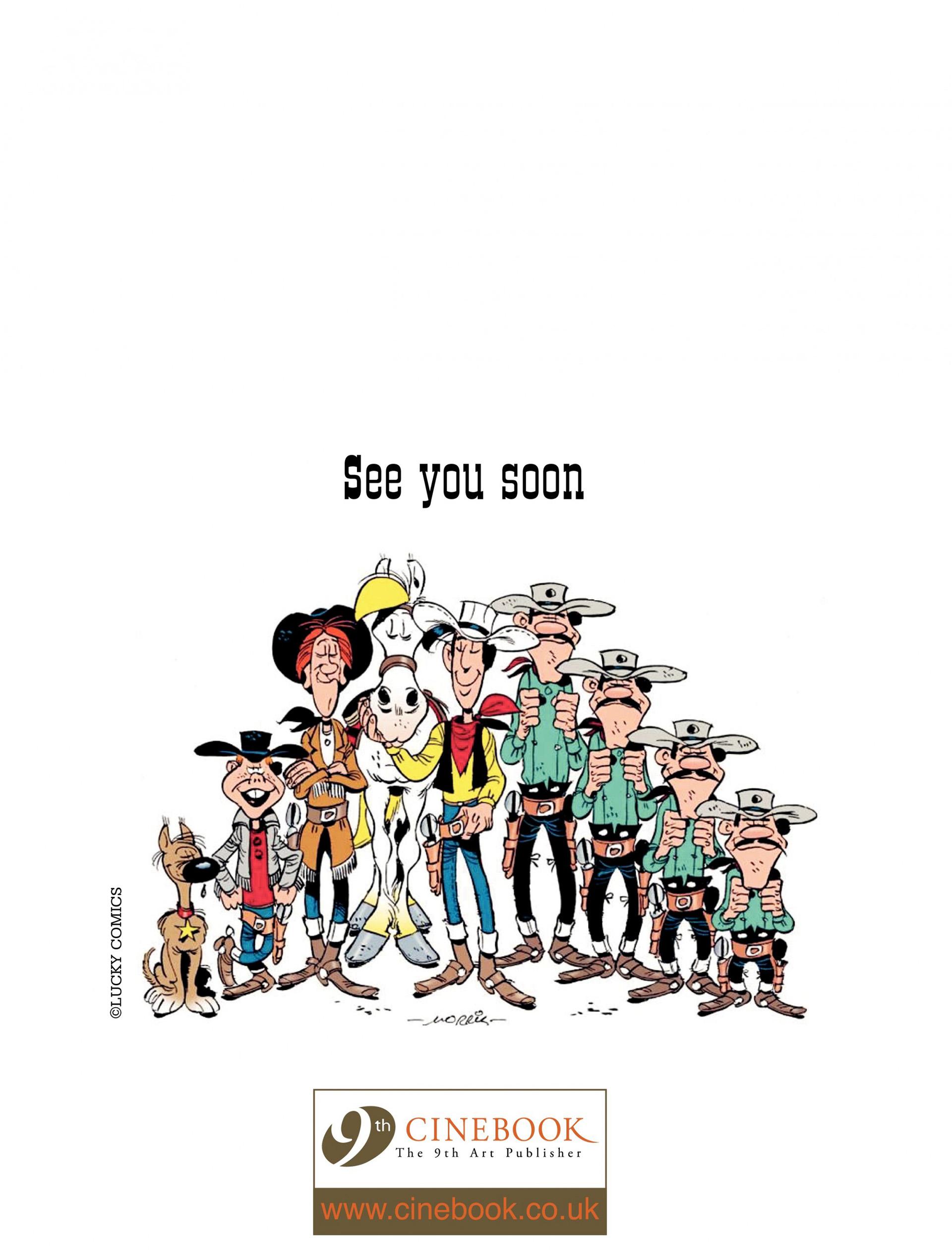Read online A Lucky Luke Adventure comic -  Issue #9 - 48