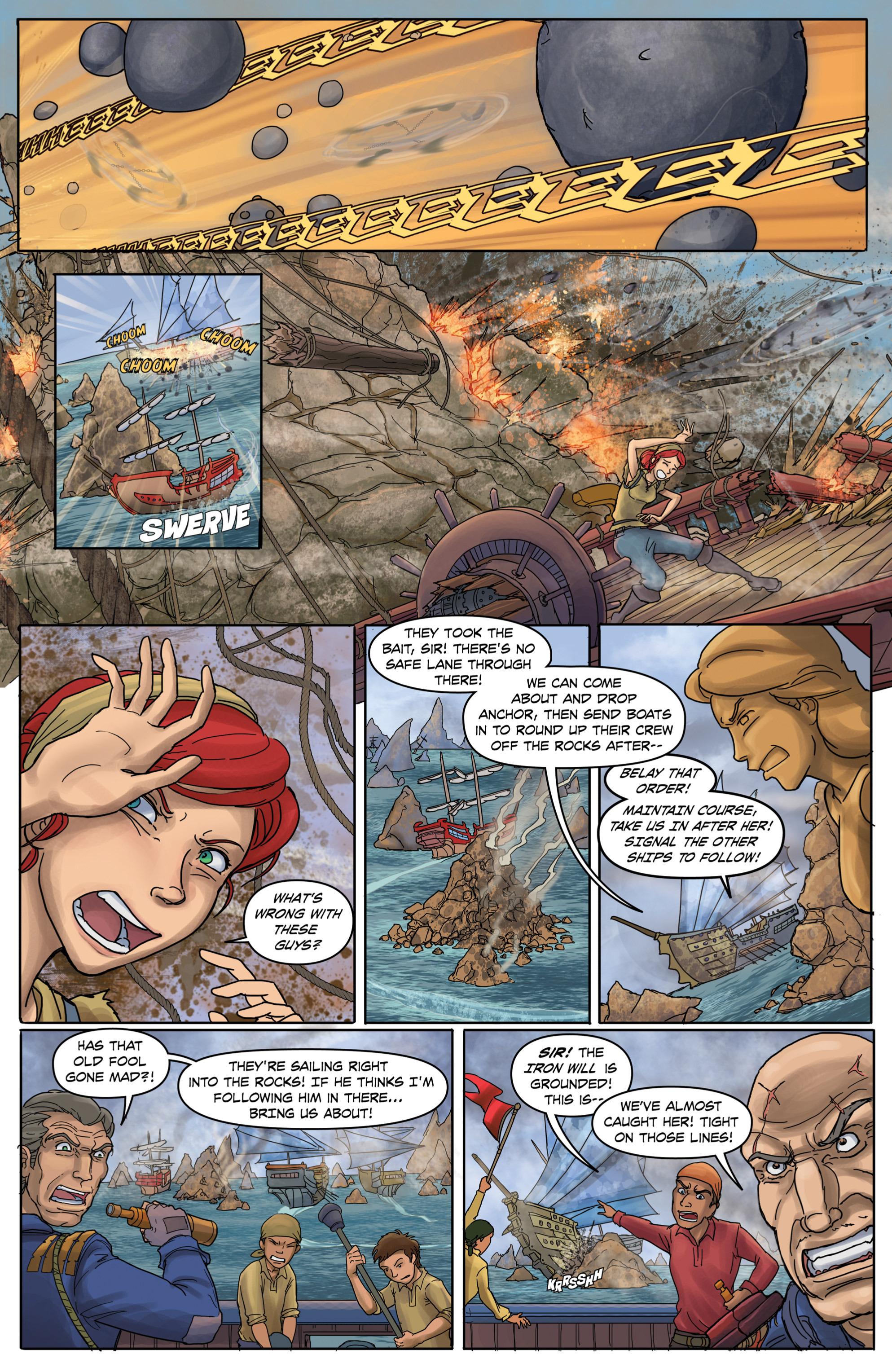 Read online Anne Bonnie comic -  Issue #2 - 7