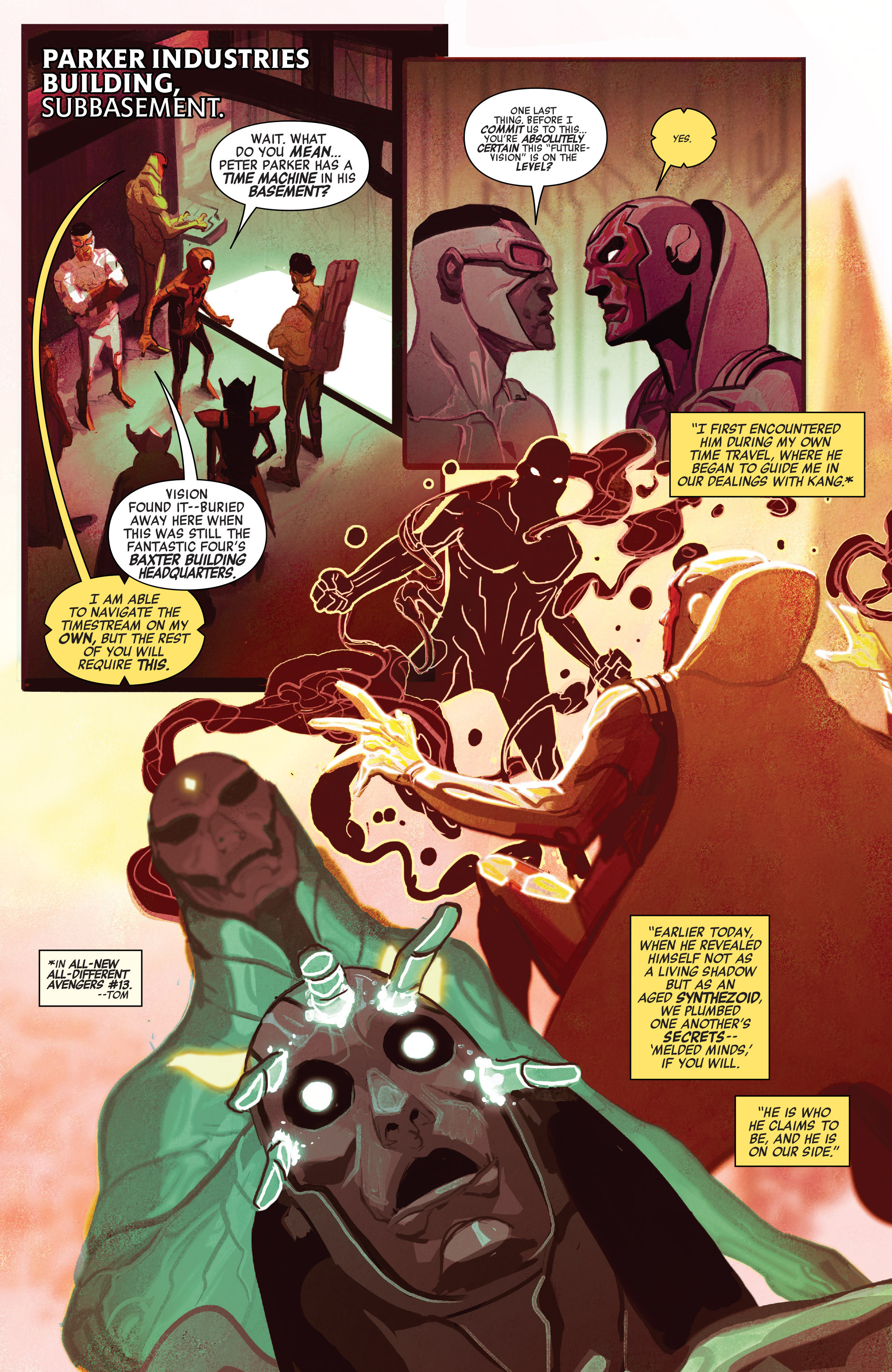 Read online Avengers (2016) comic -  Issue #5 - 8