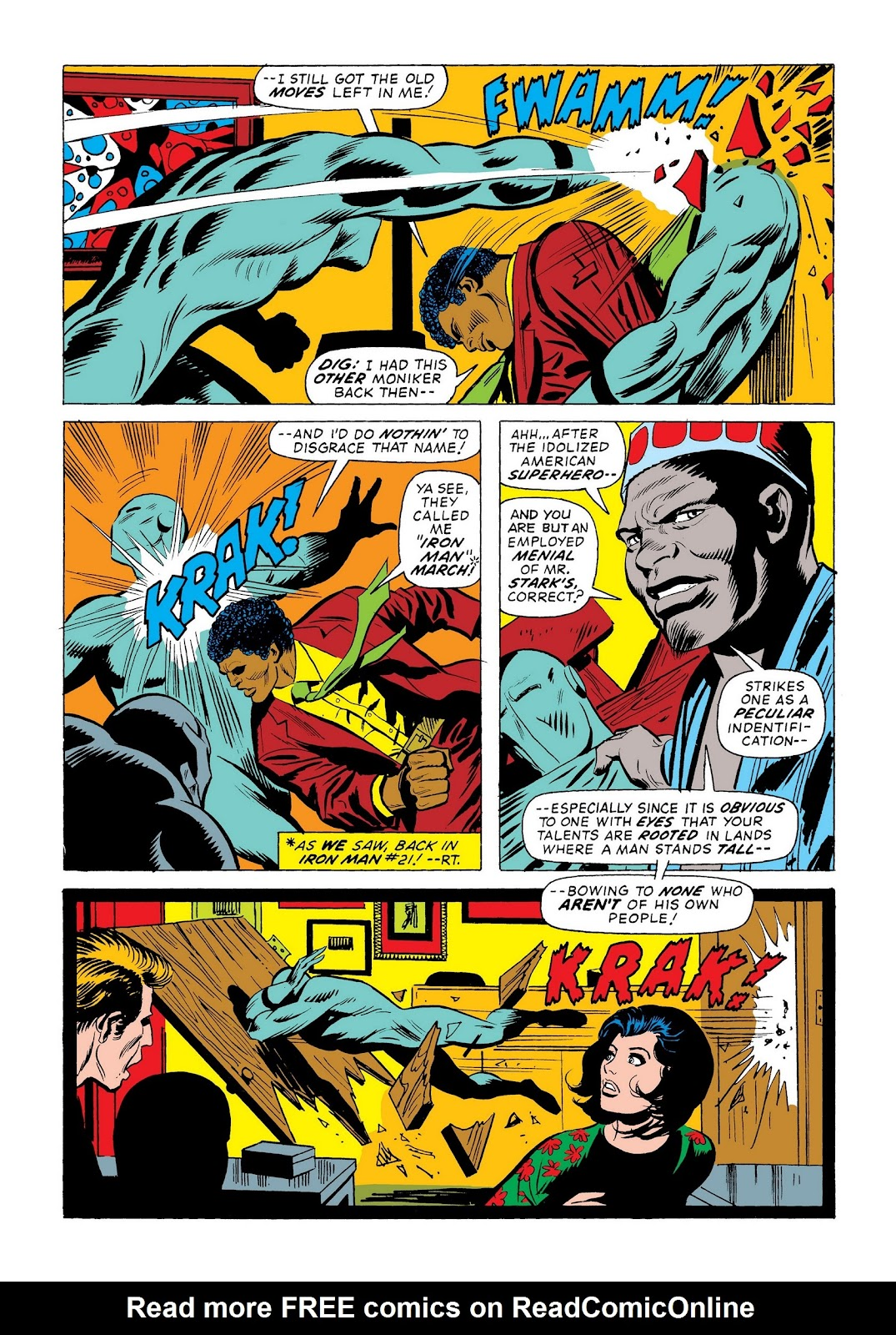 Read online Marvel Masterworks: The Invincible Iron Man comic -  Issue # TPB 9 (Part 3) - 3