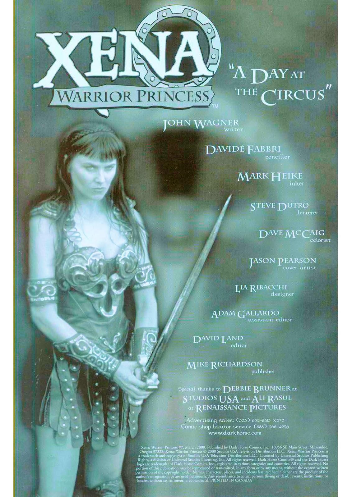 Xena: Warrior Princess (1999) Issue #7 #7 - English 3