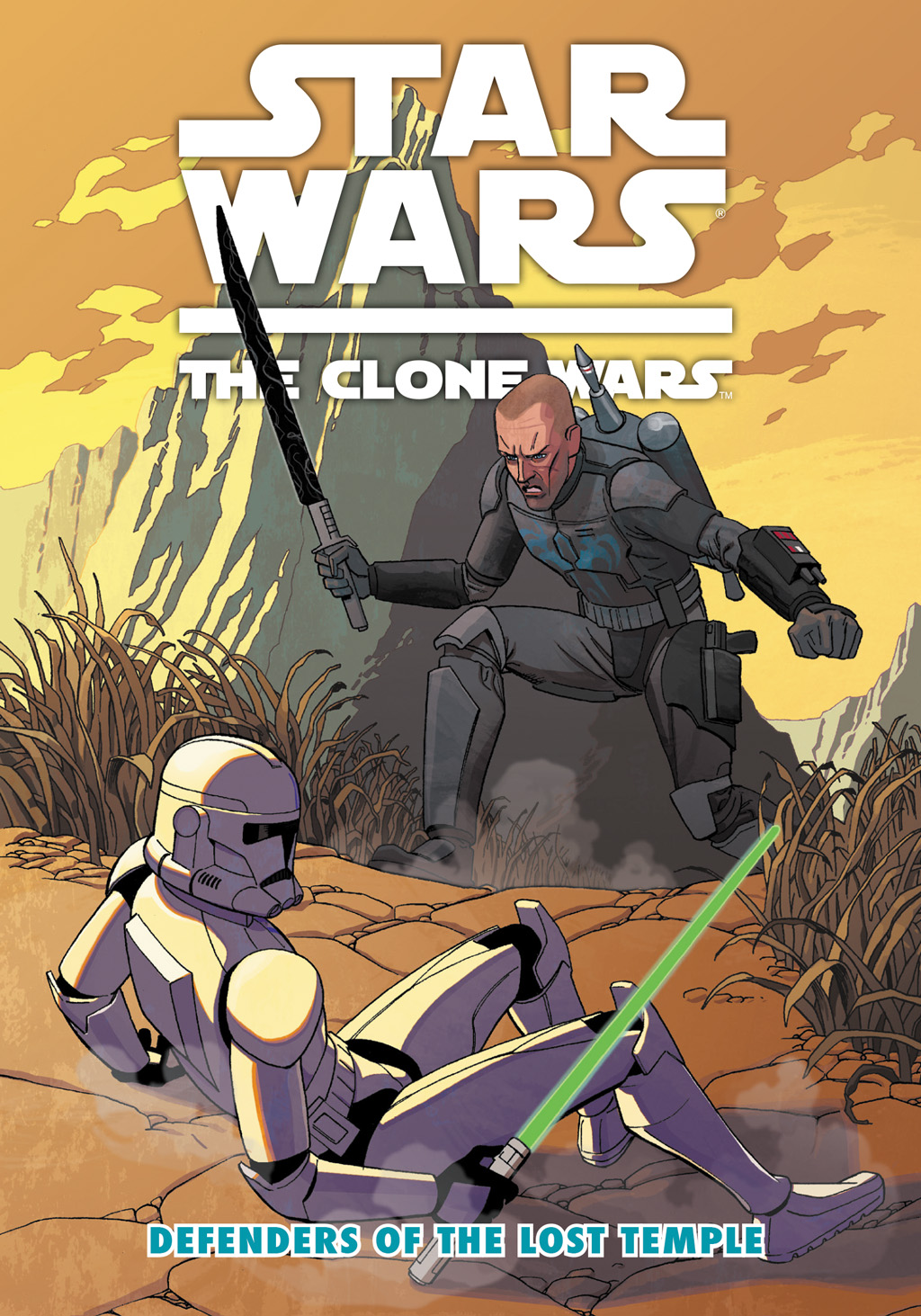 Read online Star Wars: The Clone Wars - Defenders of the Lost Temple comic -  Issue # Full - 1