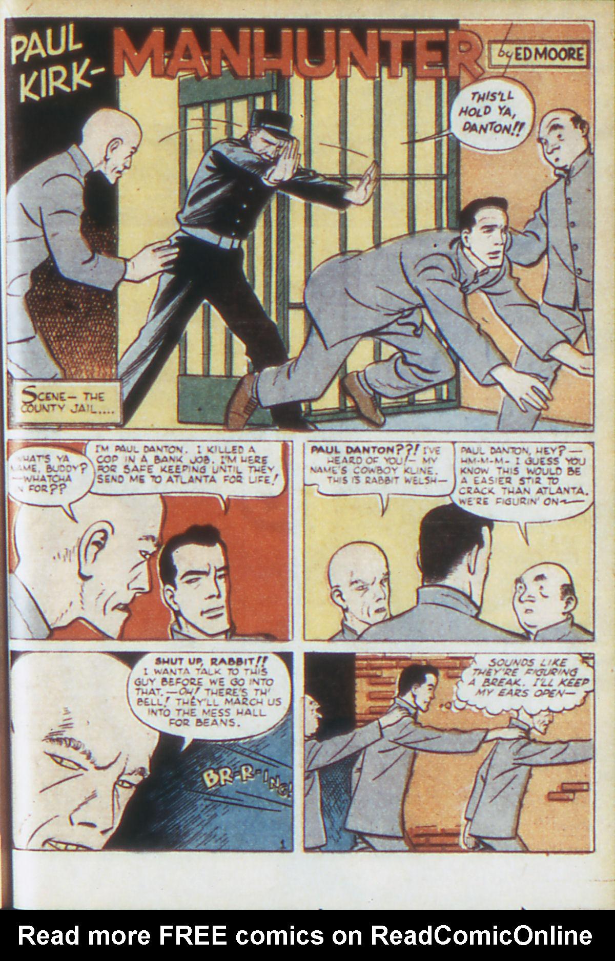 Read online Adventure Comics (1938) comic -  Issue #64 - 42
