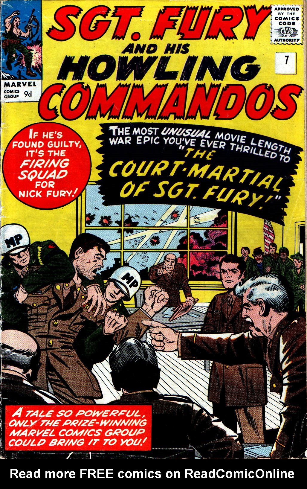 Read online Sgt. Fury comic -  Issue #7 - 1