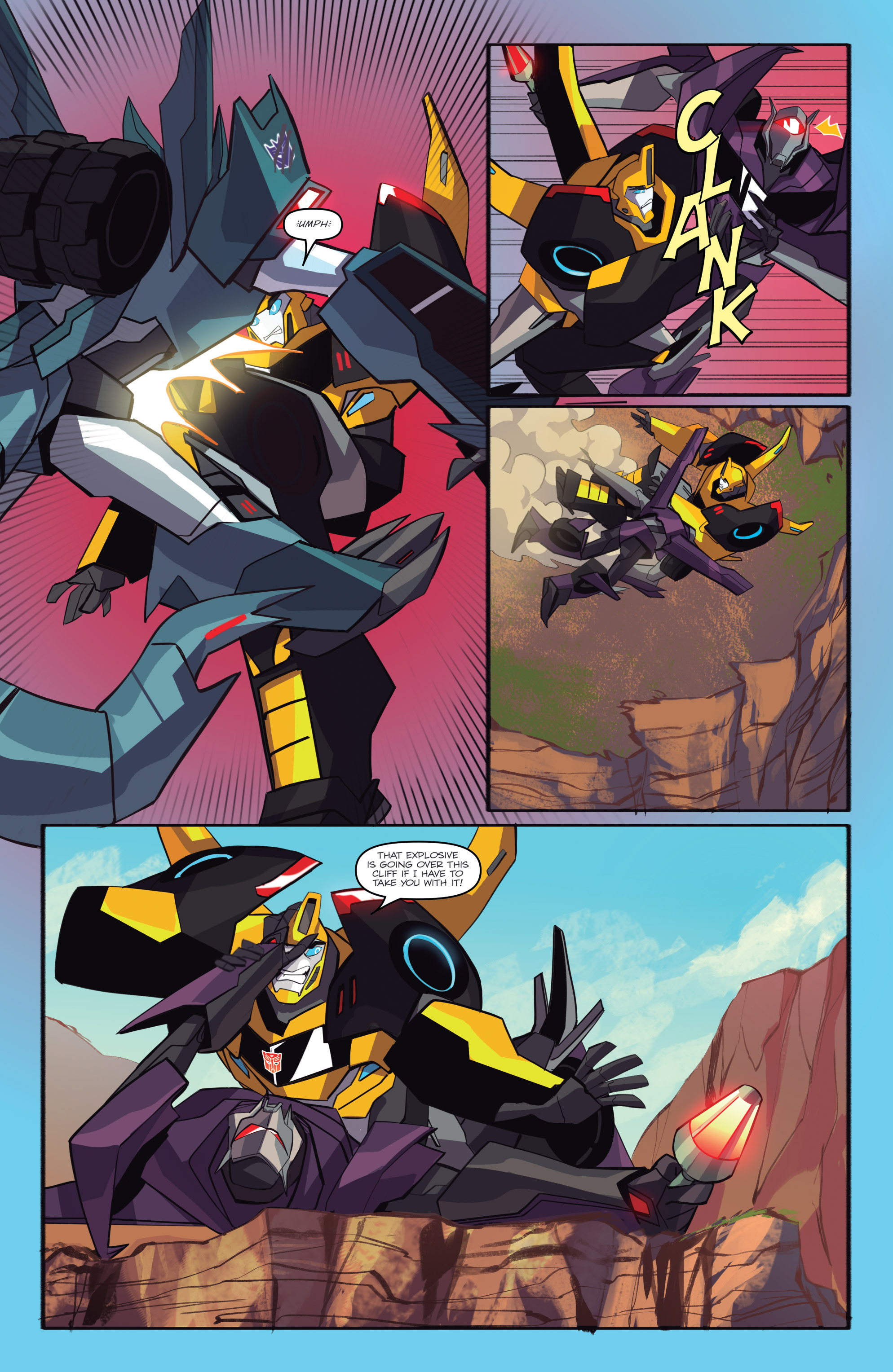 Read online Transformers: Robots In Disguise (2015) comic -  Issue #6 - 18