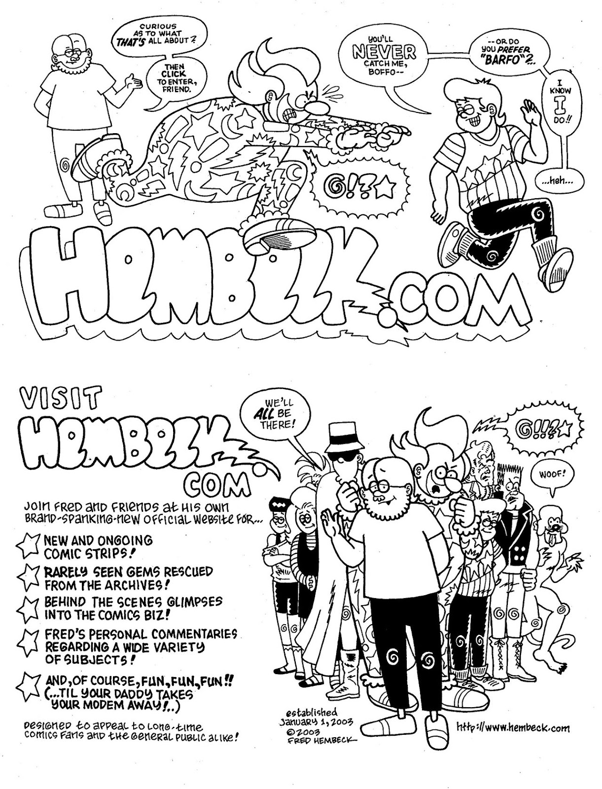 Read online The Nearly Complete Essential Hembeck Archives Omnibus comic -  Issue # TPB (Part 9) - 47