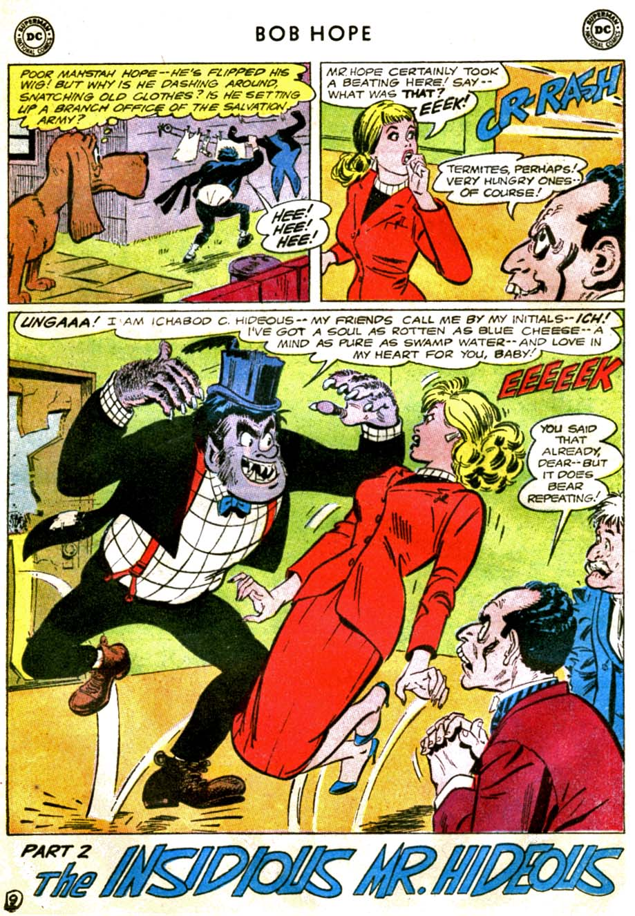 The Adventures of Bob Hope issue 92 - Page 13
