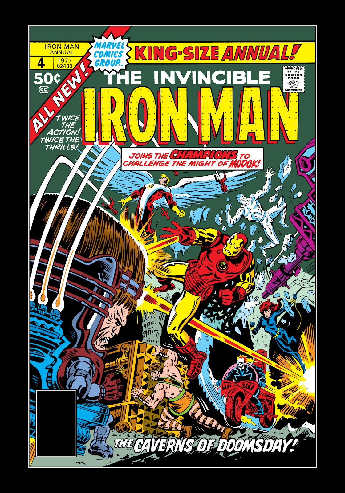 Read online Marvel Masterworks: The Invincible Iron Man comic -  Issue # TPB 11 (Part 3) - 85