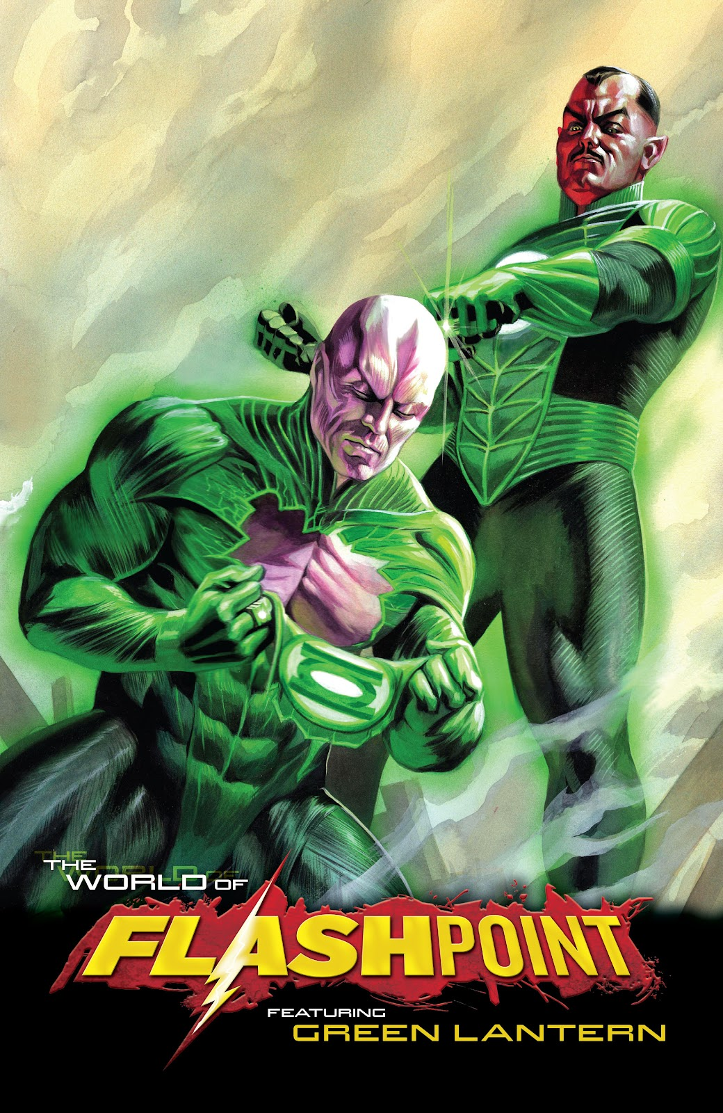 Flashpoint: The World of Flashpoint Featuring Green Lantern Full Page 2