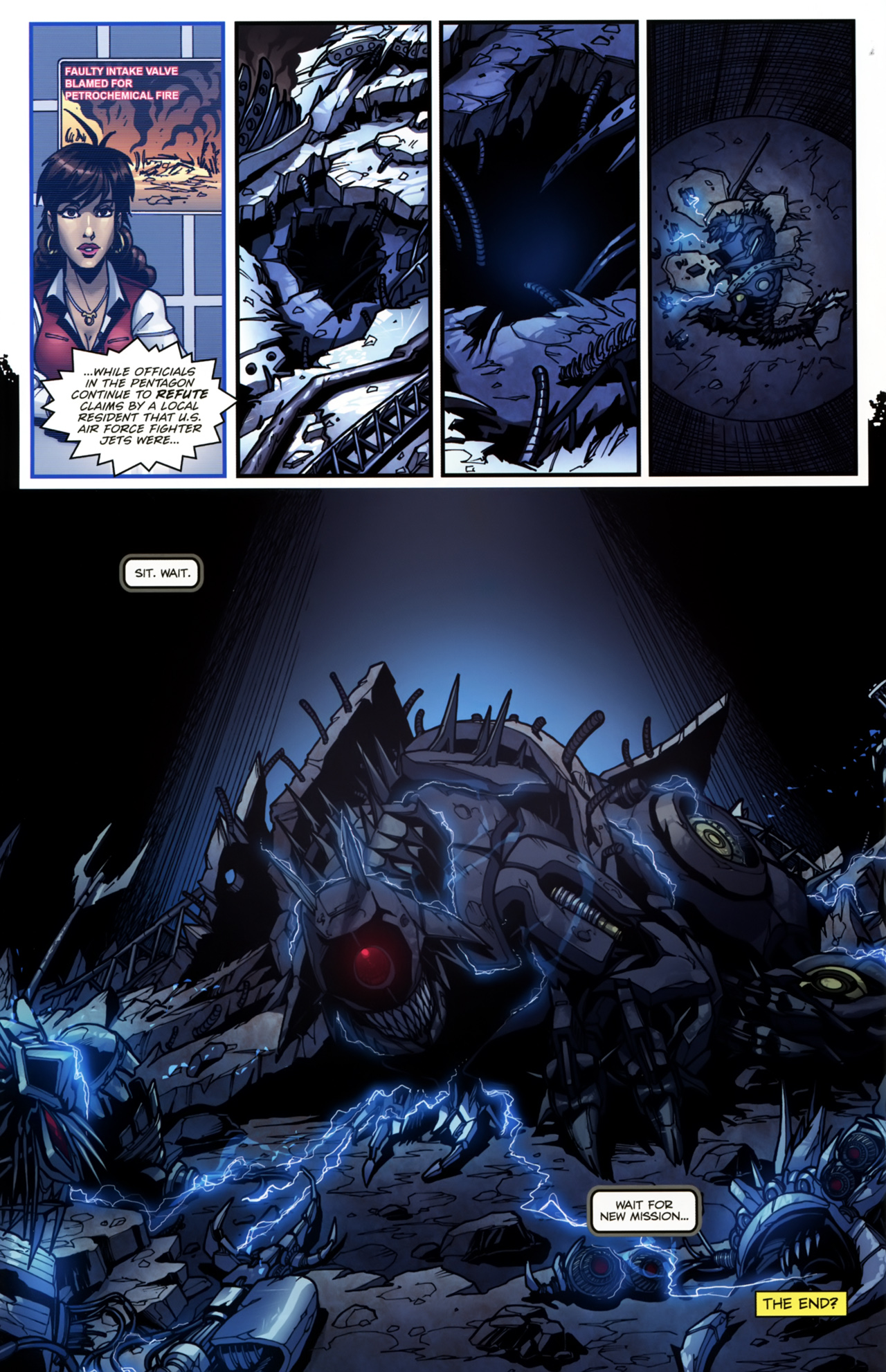 Read online Transformers: Tales of The Fallen comic -  Issue #5 - 23