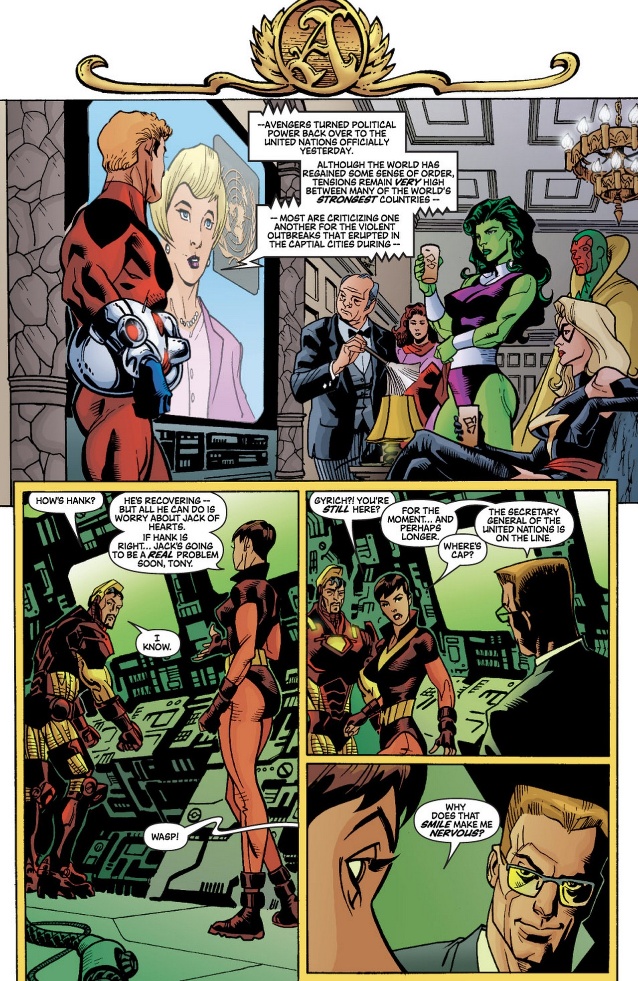 Read online Avengers (1998) comic -  Issue #60 - 24
