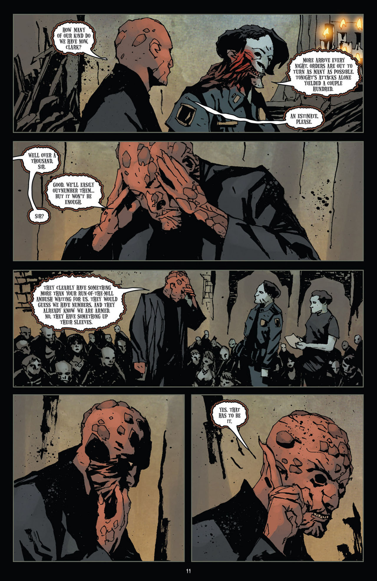 Read online 30 Days of Night (2011) comic -  Issue #10 - 12
