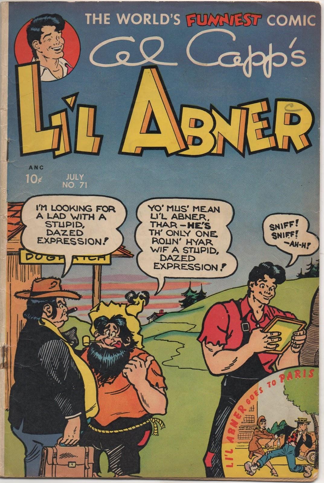 Lil Abner Comics 71 Page 1