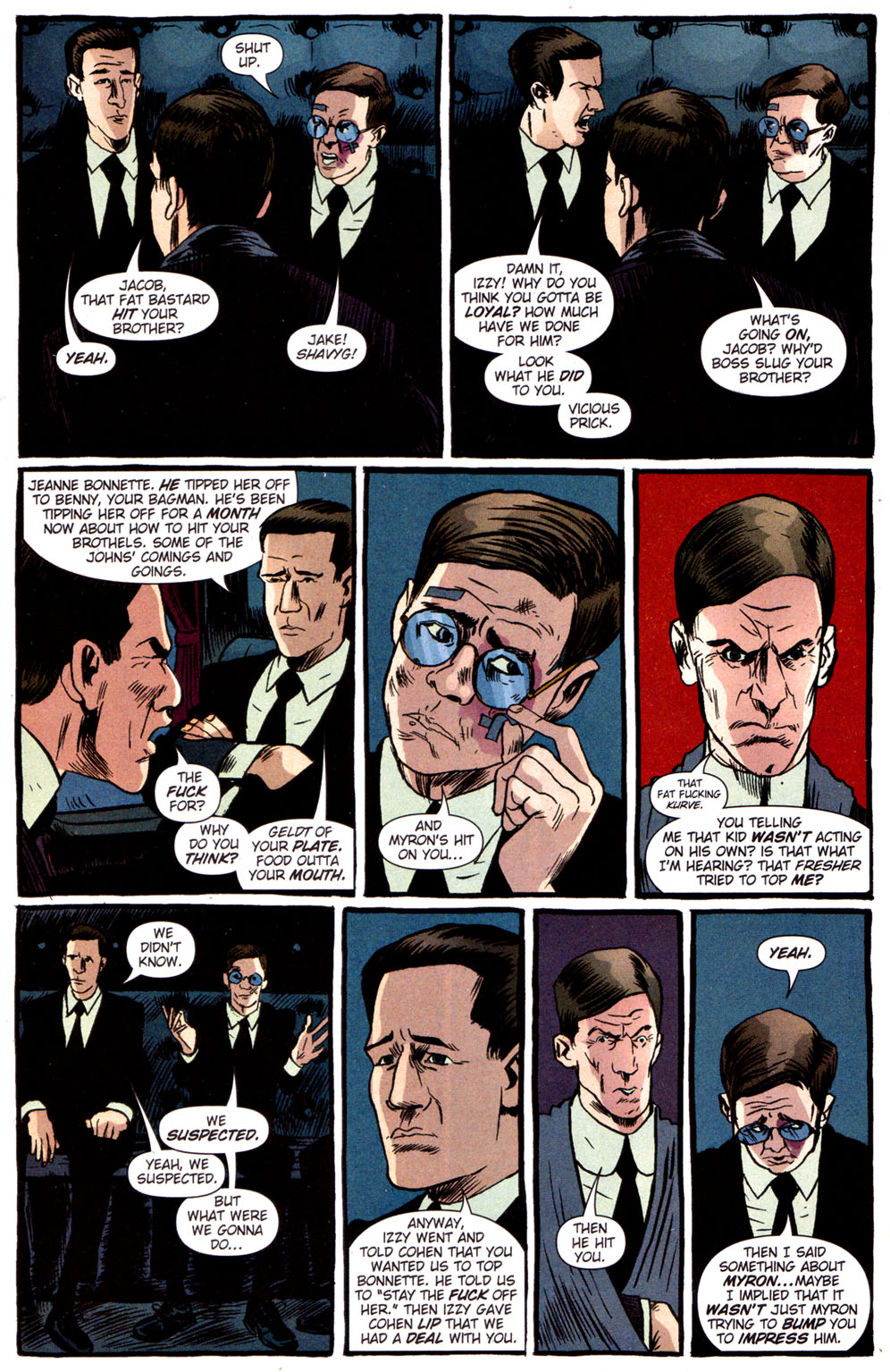 Read online Caper comic -  Issue #3 - 19