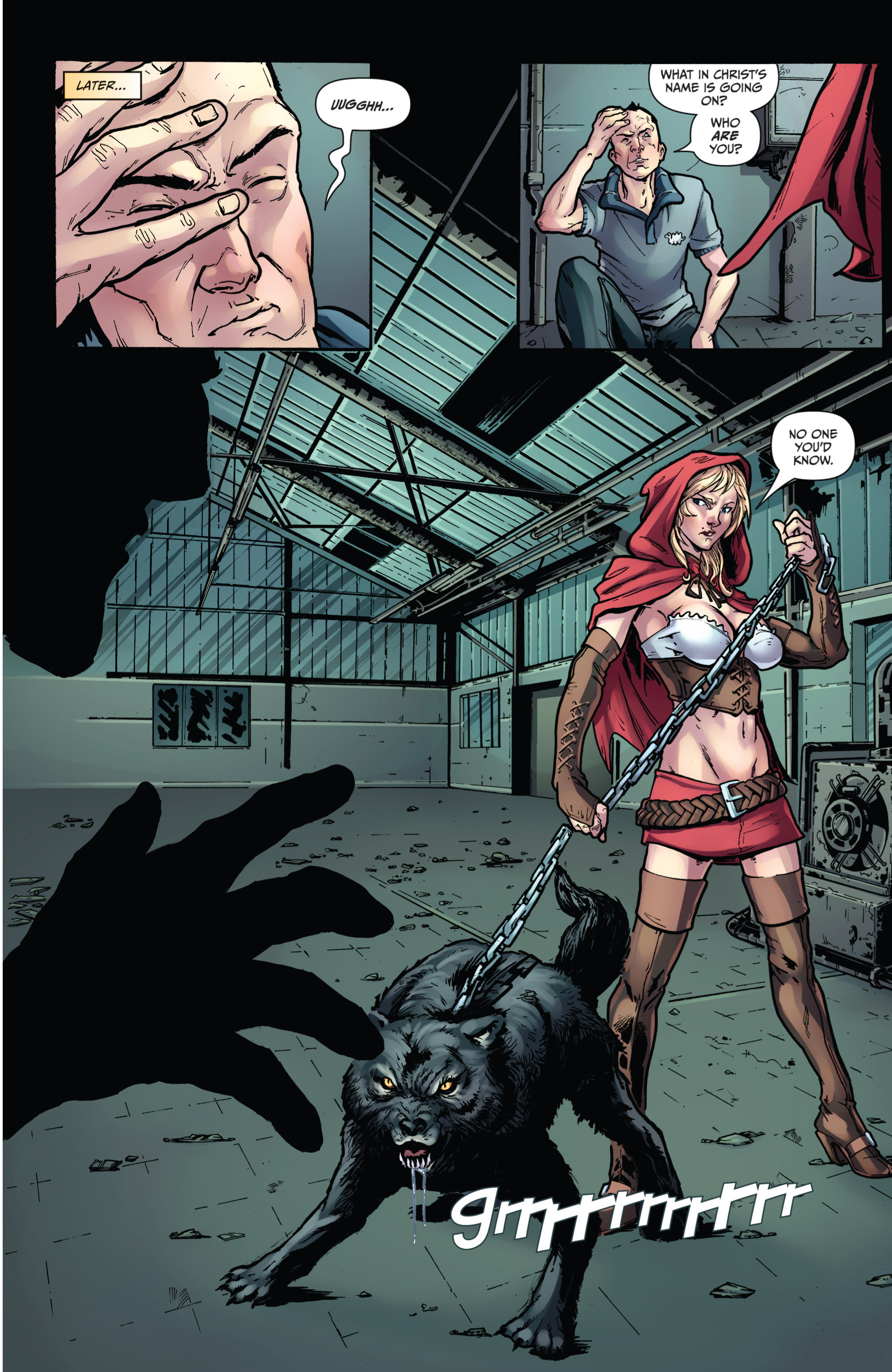 Read online Grimm Fairy Tales presents Grimm Universe comic -  Issue # TPB - 87