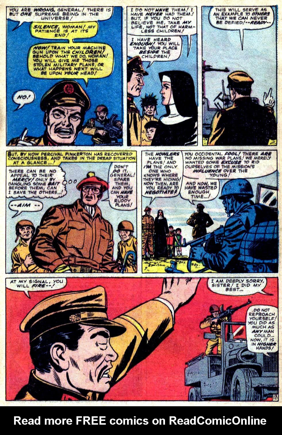Read online Sgt. Fury comic -  Issue #23 - 17