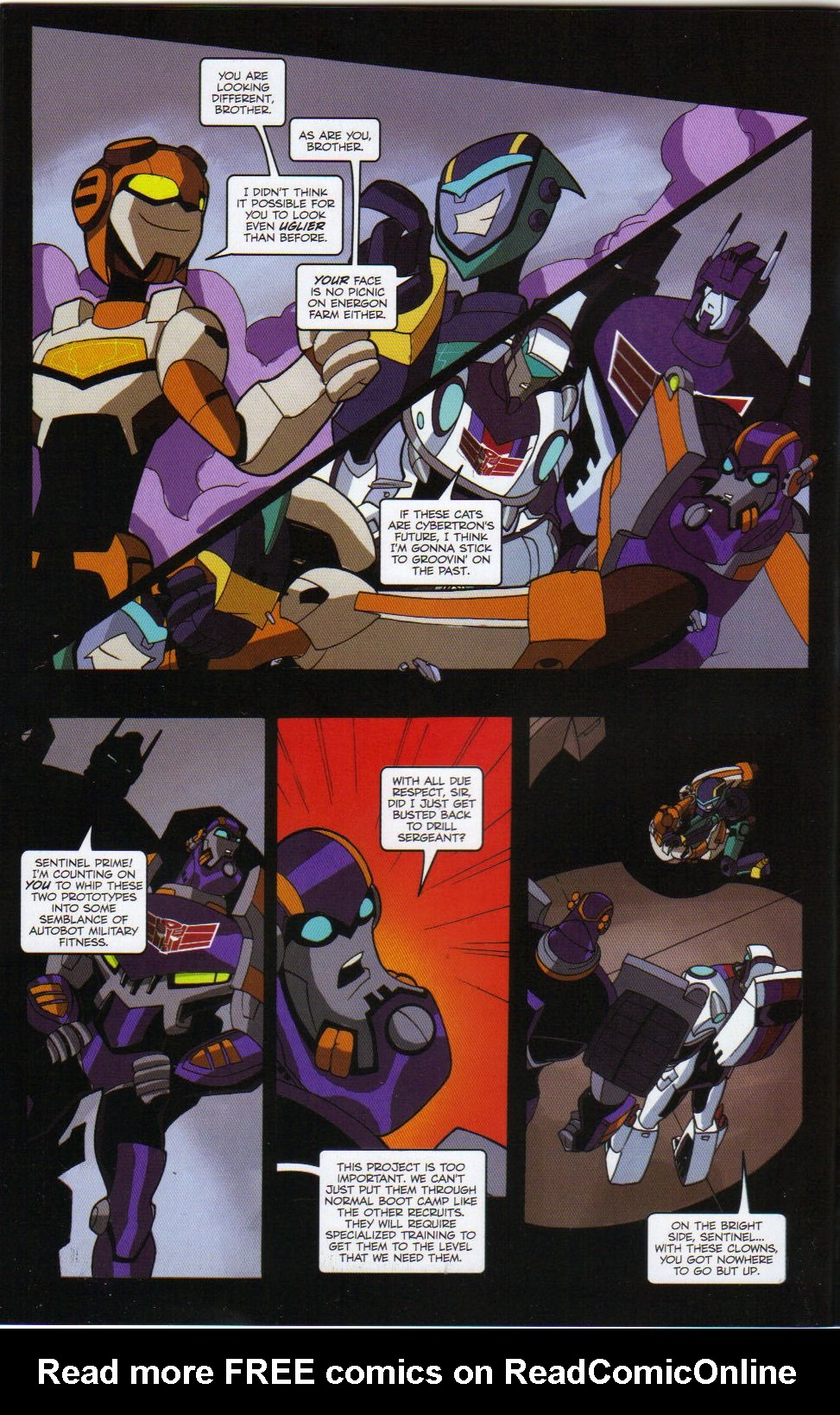Read online Transformers Animated: The Arrival comic -  Issue #6 - 10