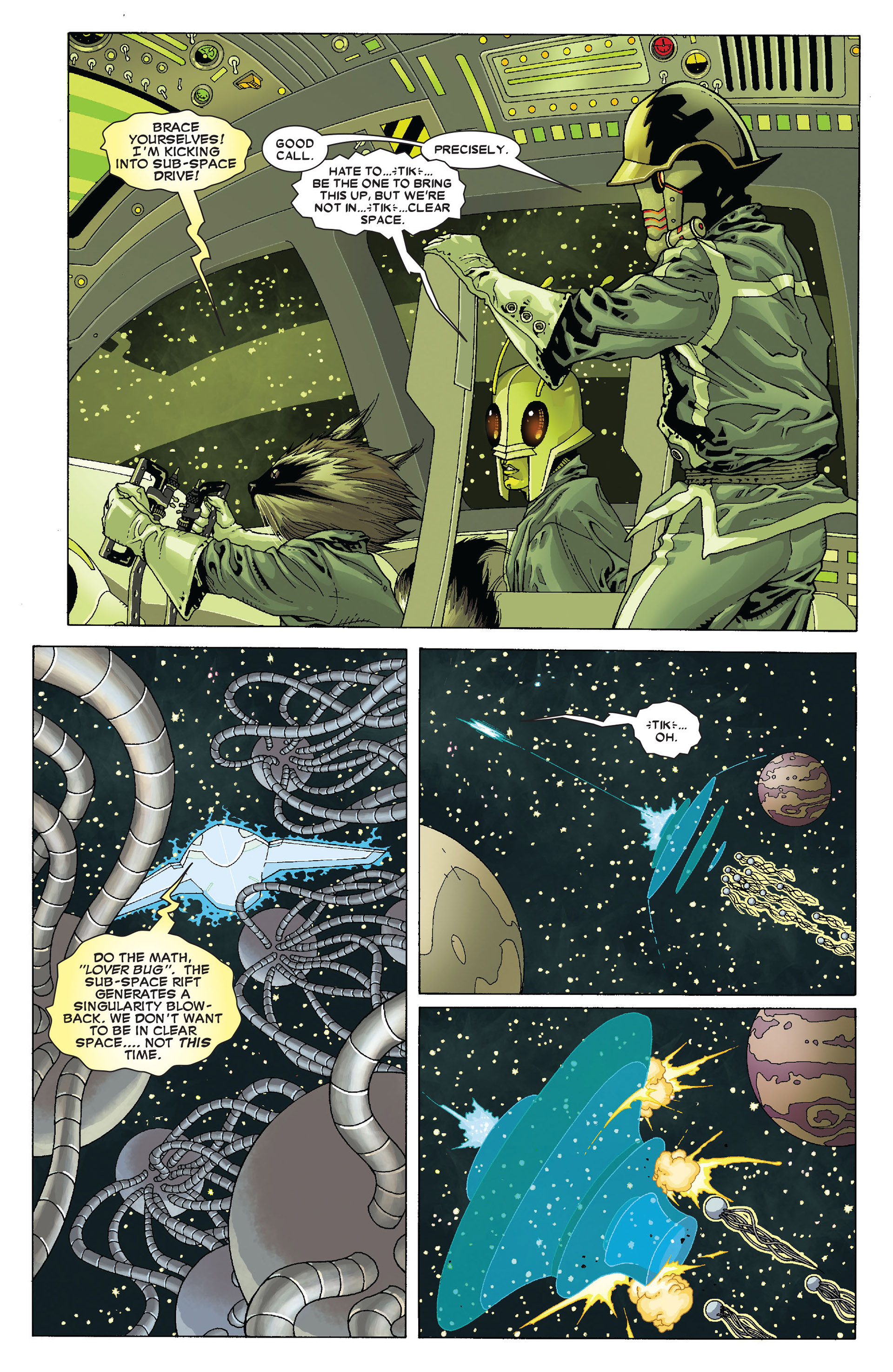 Read online Annihilation: Conquest - Starlord comic -  Issue #4 - 19