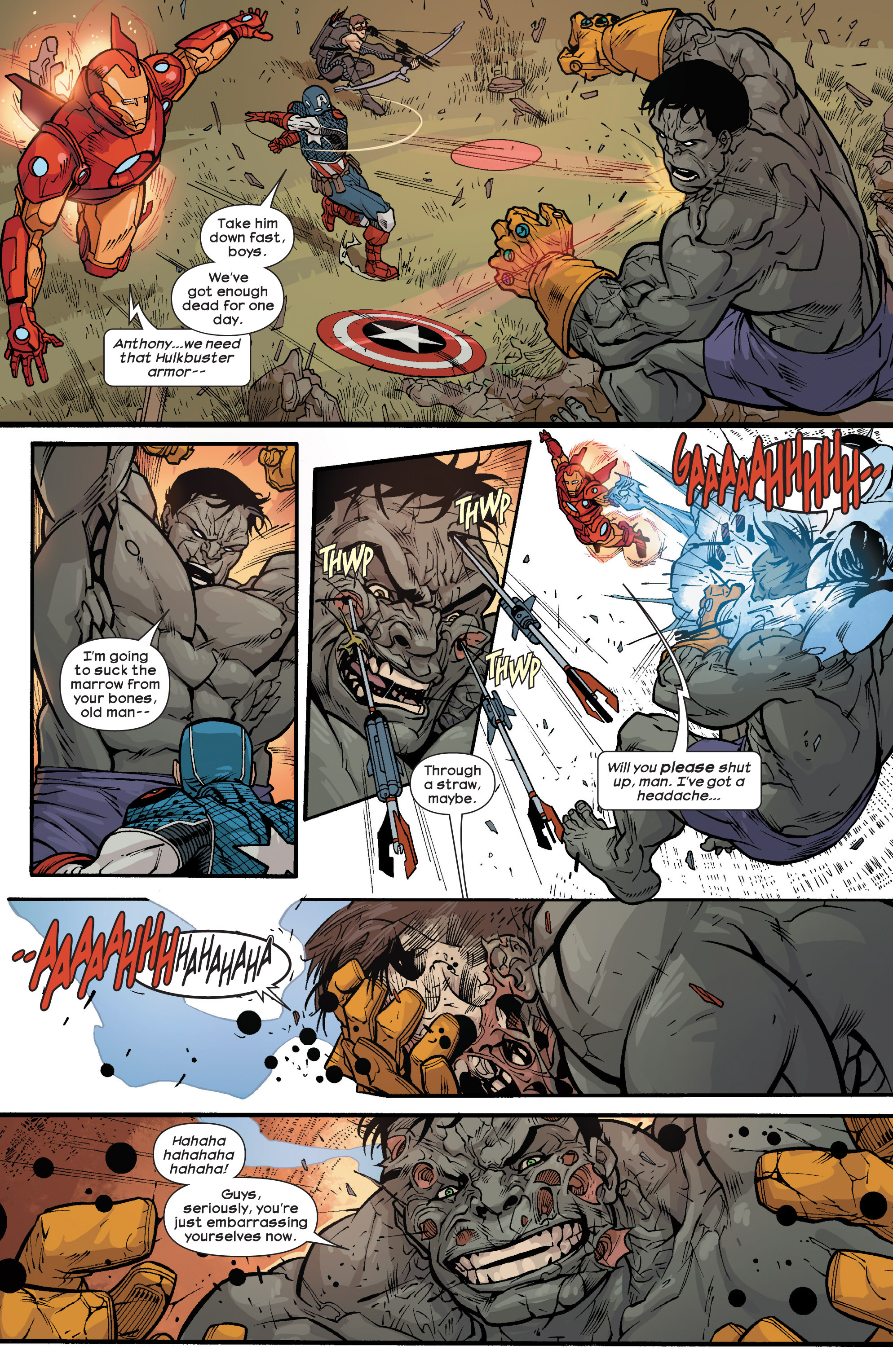 Read online Ultimate Comics Ultimates comic -  Issue #25 - 9