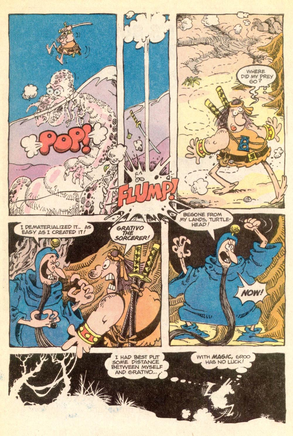 Read online Sergio Aragonés Groo the Wanderer comic -  Issue #21 - 5