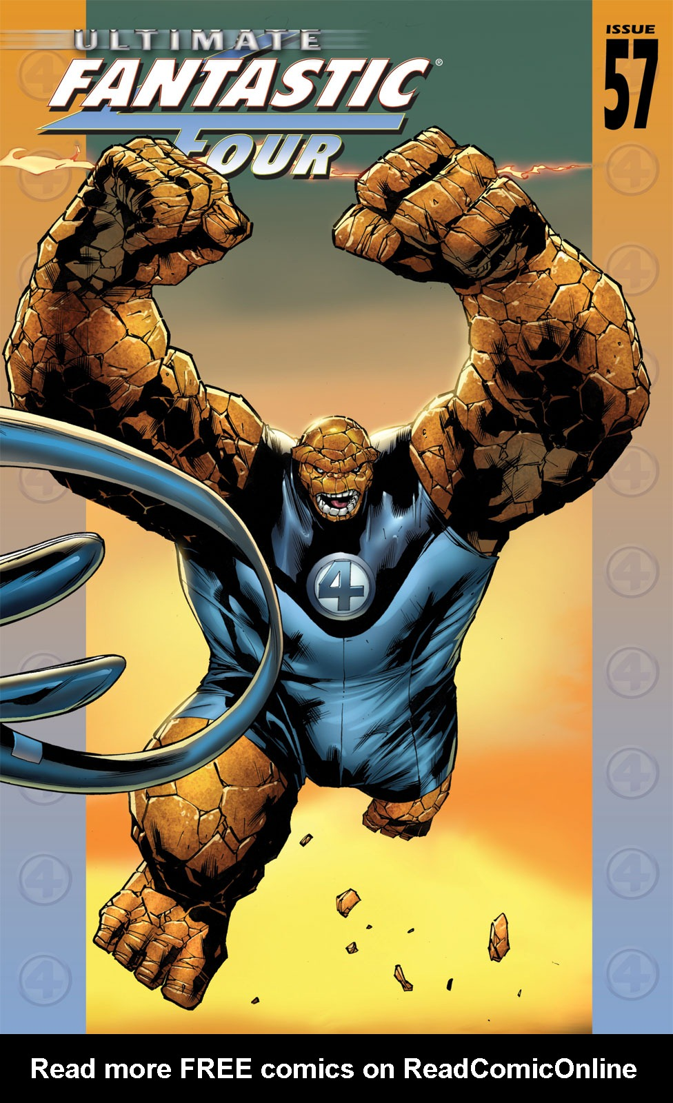 Read online Ultimate Fantastic Four (2004) comic -  Issue #57 - 1