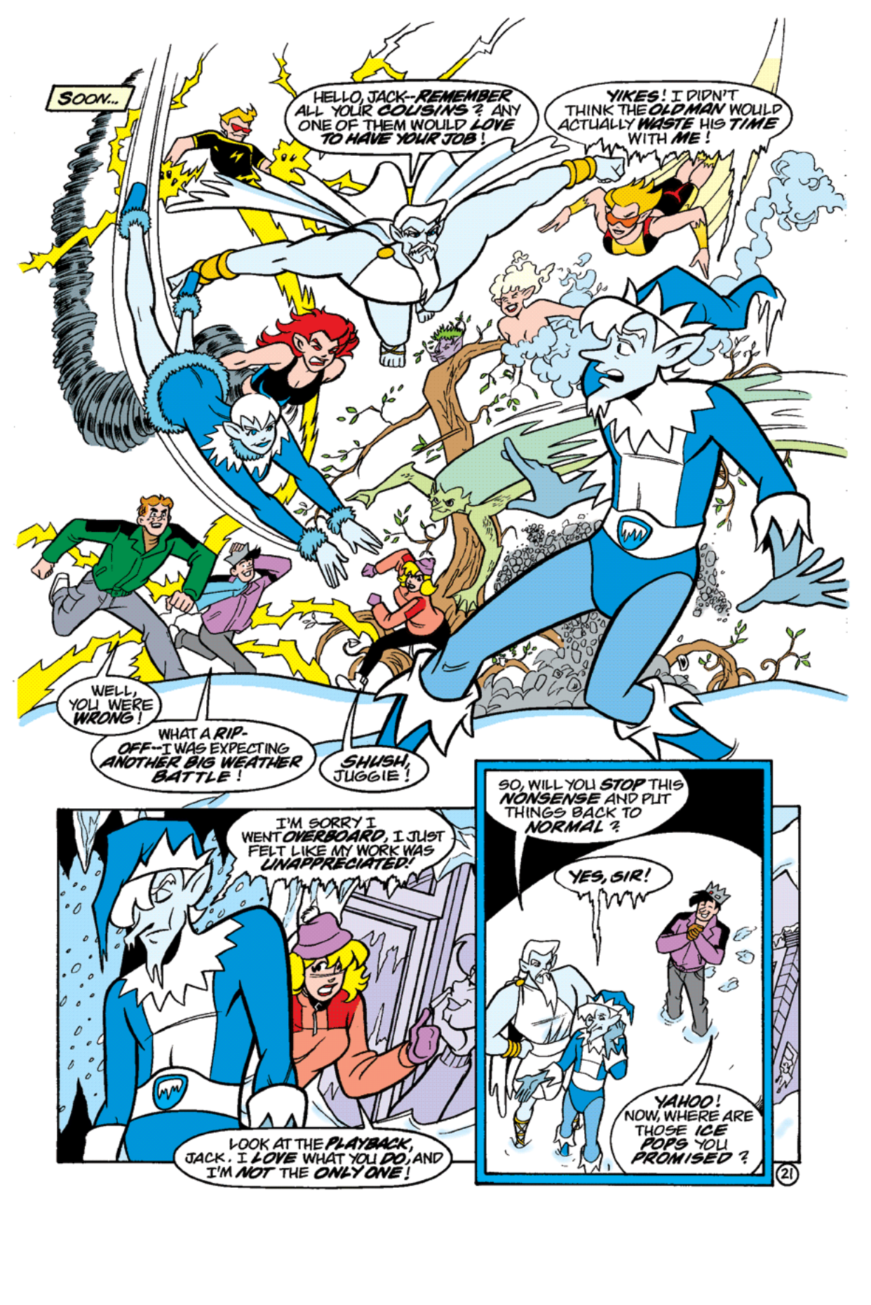 Read online Archie's Weird Mysteries comic -  Issue #11 - 23