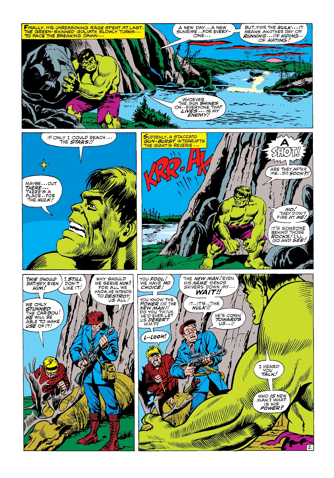 Read online Marvel Masterworks: The Incredible Hulk comic -  Issue # TPB 3 (Part 2) - 63