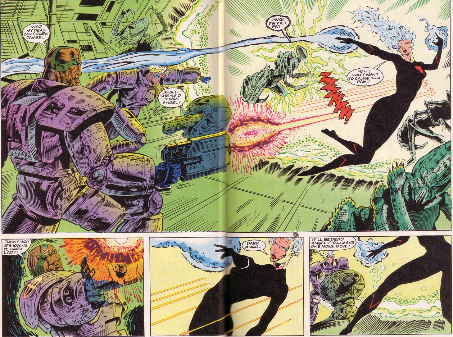 Read online Cyberspace 3000 comic -  Issue #2 - 17