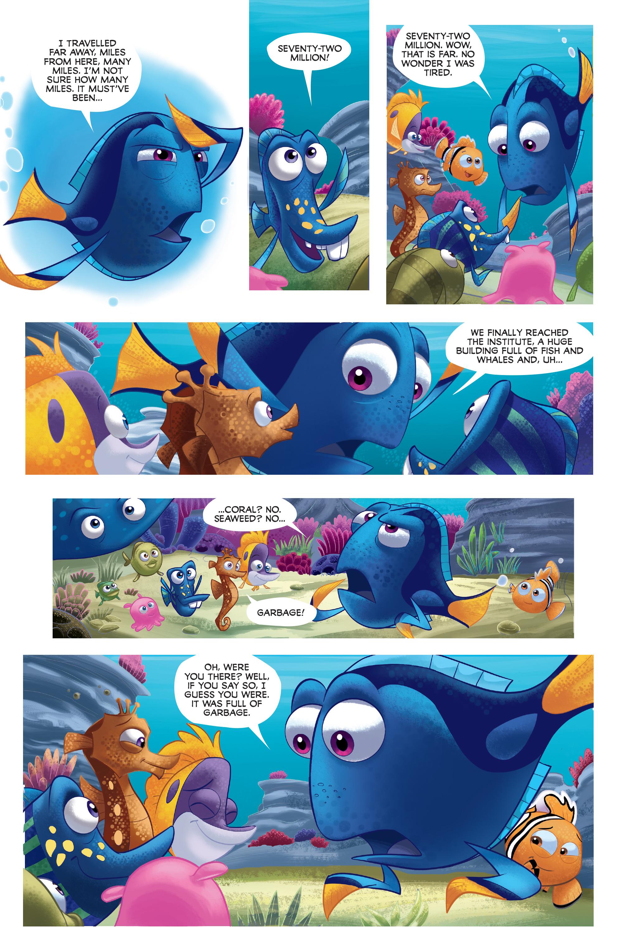 Read online Disney Pixar Finding Dory comic -  Issue #3 - 23