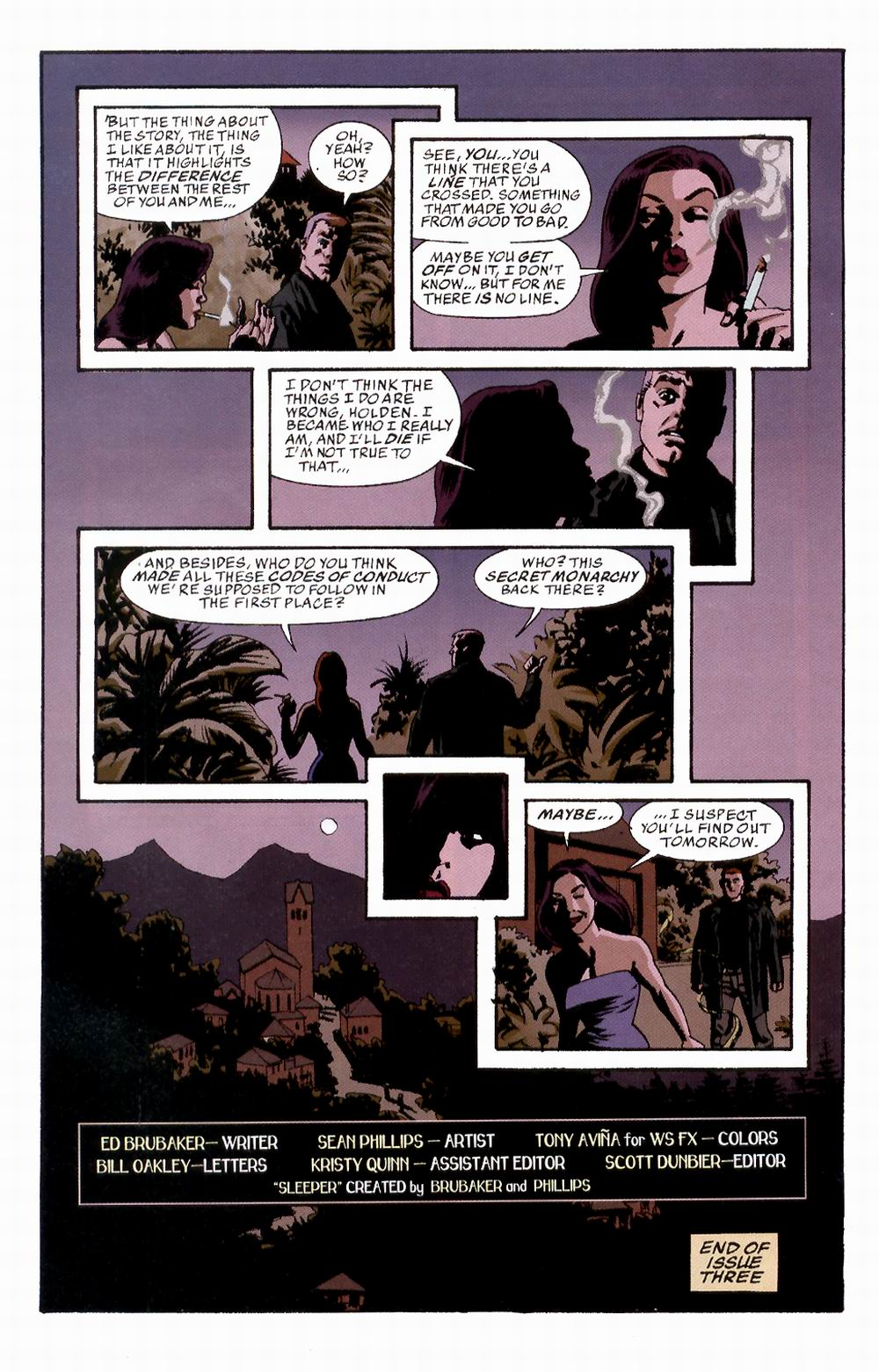 Read online Sleeper comic -  Issue #3 - 25