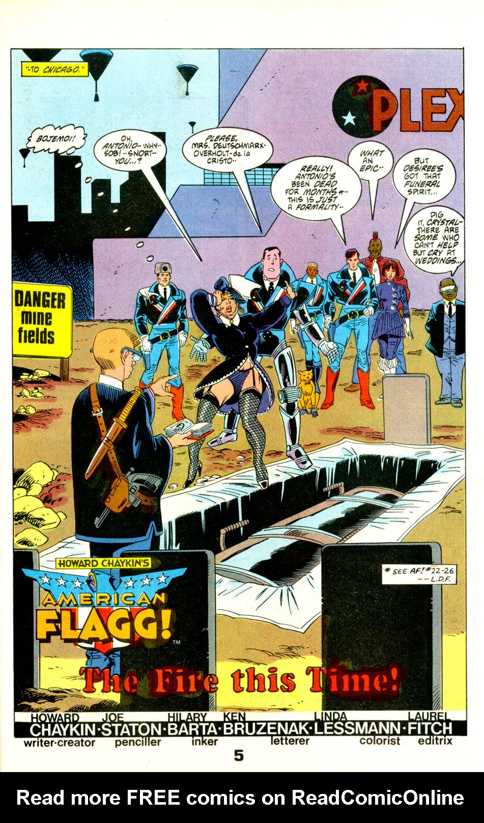 Read online American Flagg! comic -  Issue #28 - 7