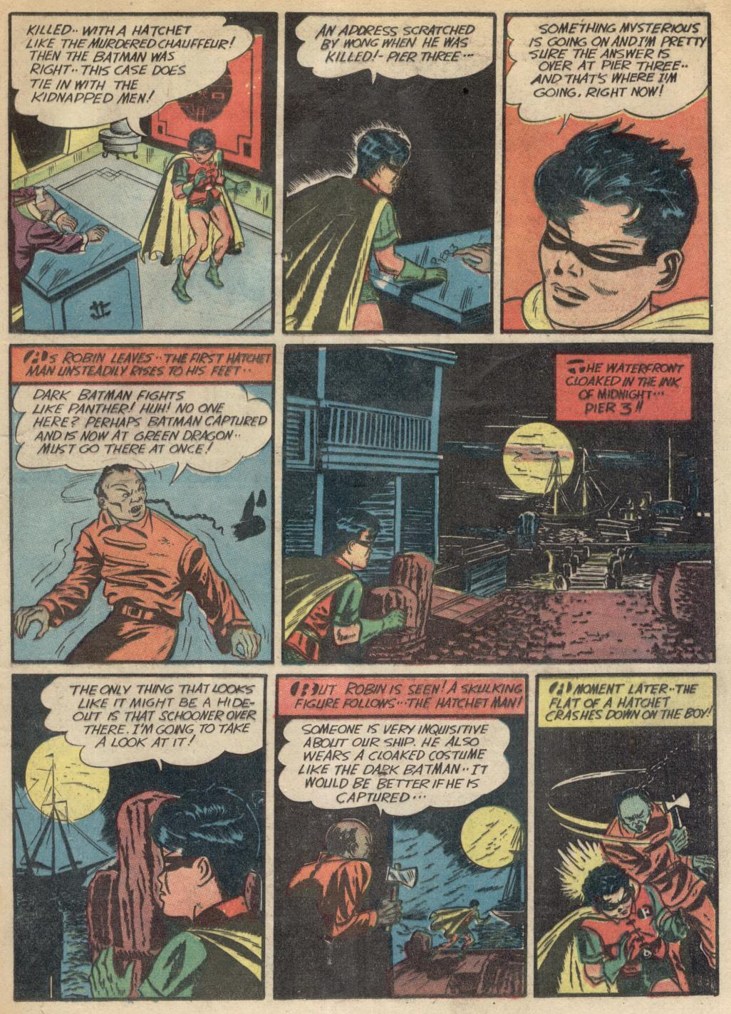 Read online Detective Comics (1937) comic -  Issue #39 - 10