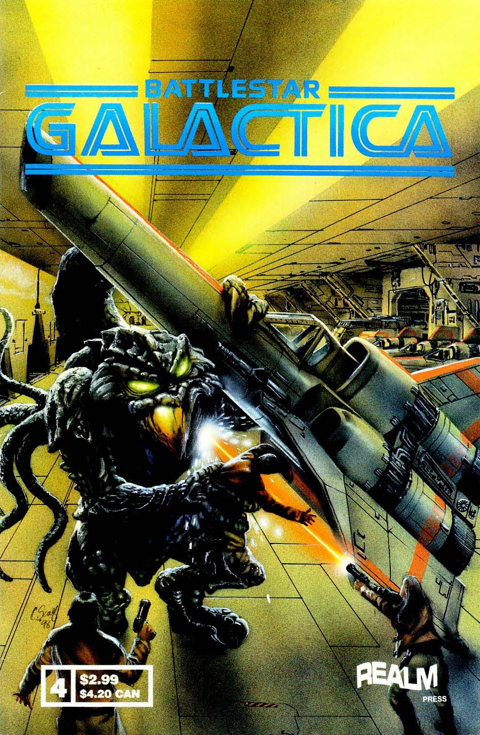 Battlestar Galactica (1997) 4 Page 1