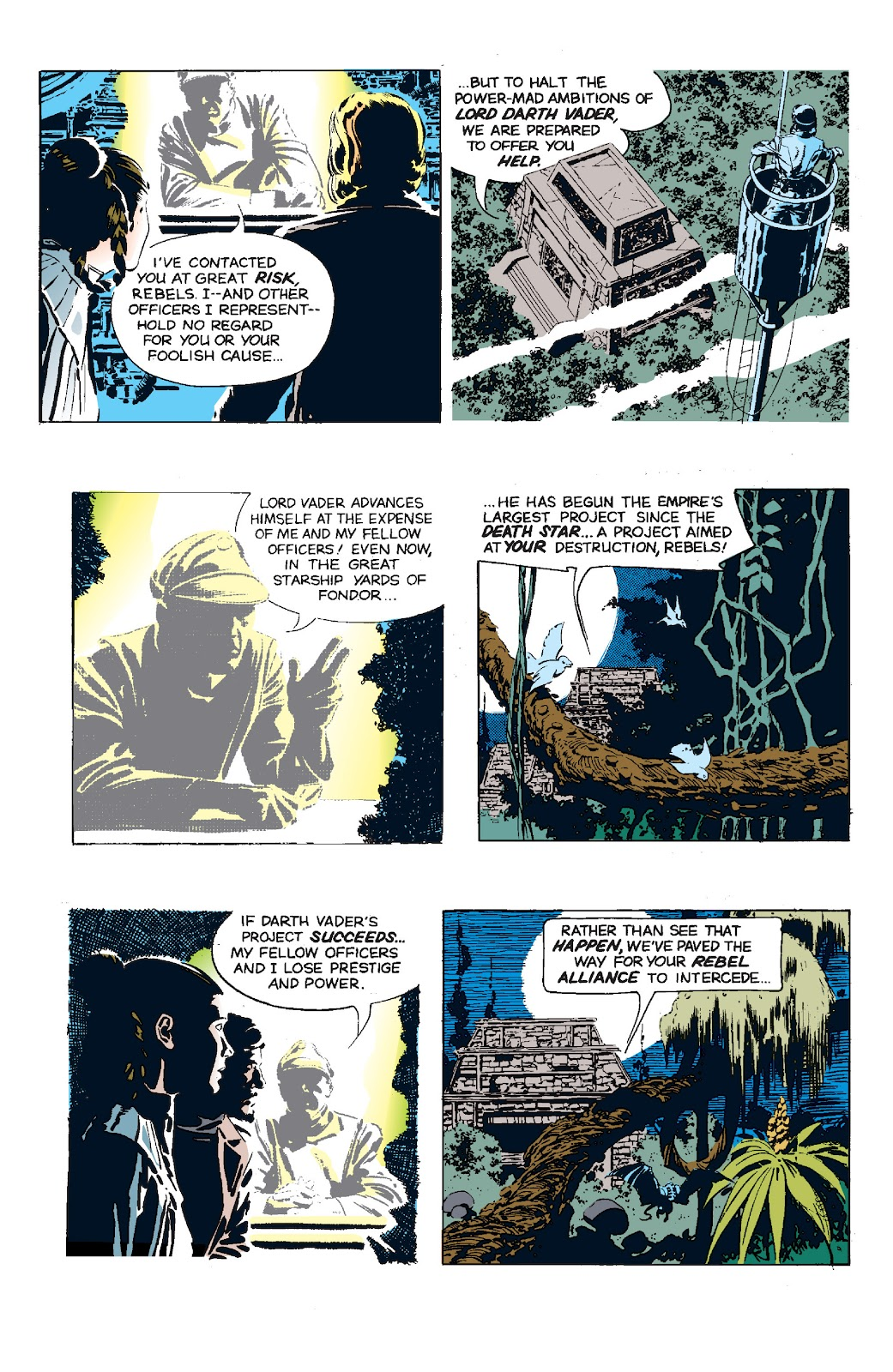 Read online Star Wars Legends: The Newspaper Strips - Epic Collection comic -  Issue # TPB (Part 5) - 35