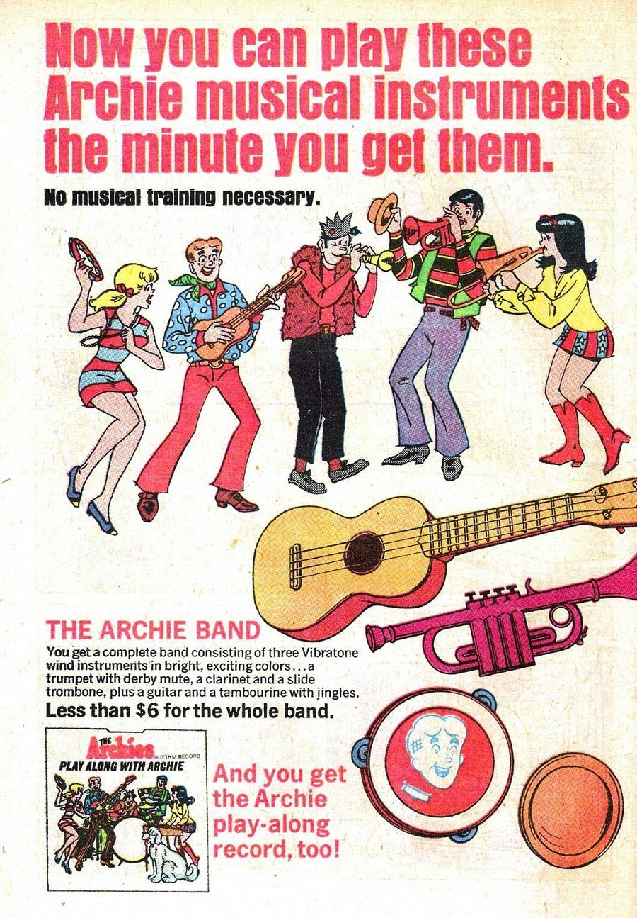Read online Archie (1960) comic -  Issue #196 - 18