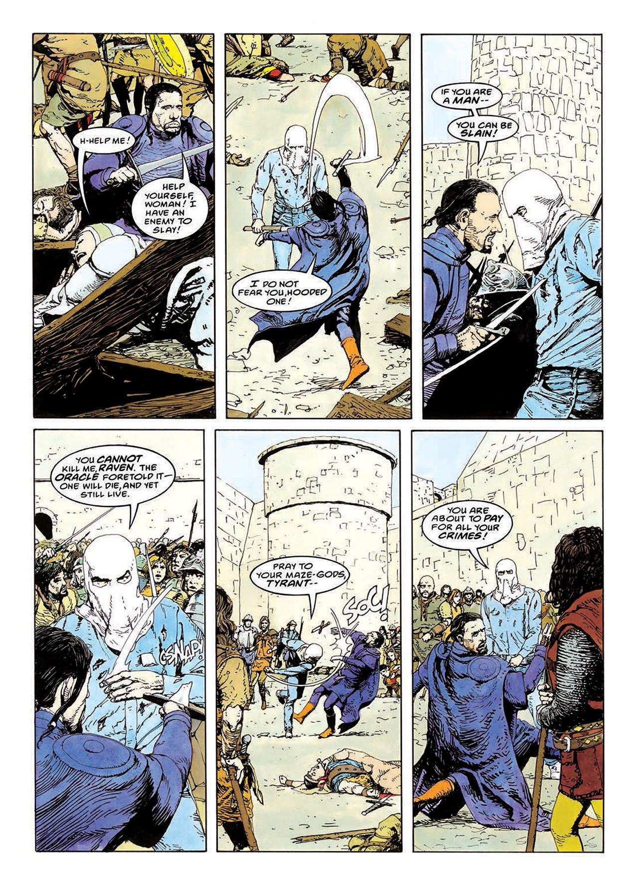 Read online Mazeworld comic -  Issue # TPB - 118