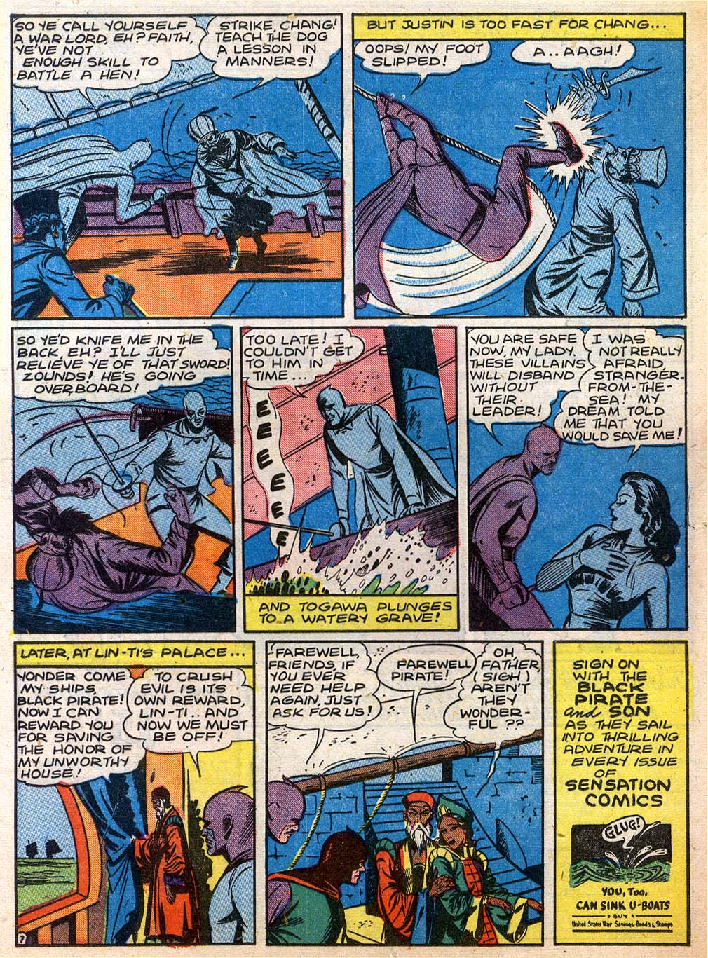 Read online Sensation (Mystery) Comics comic -  Issue #27 - 23