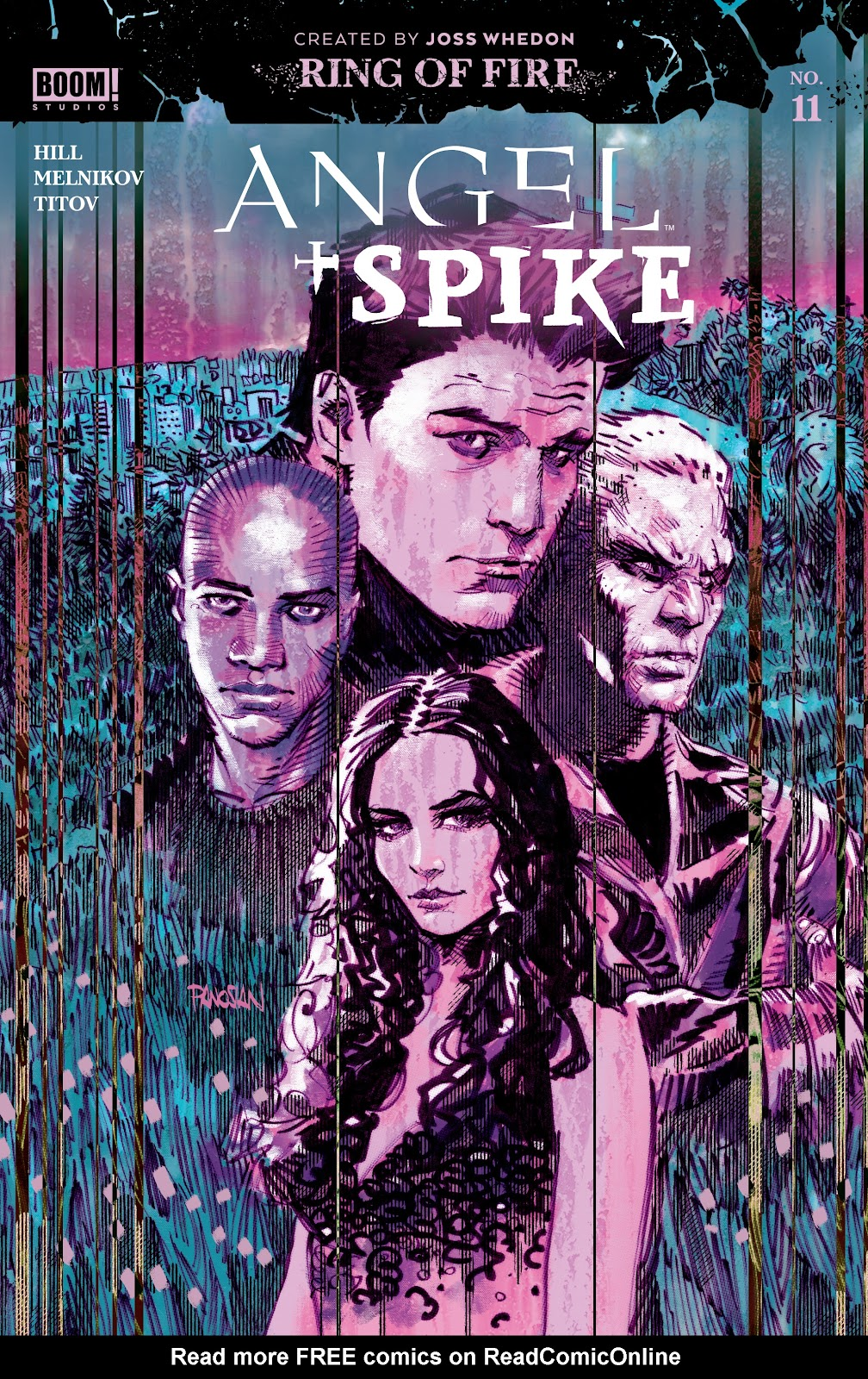 Read online Angel   Spike comic -  Issue #11 - 1