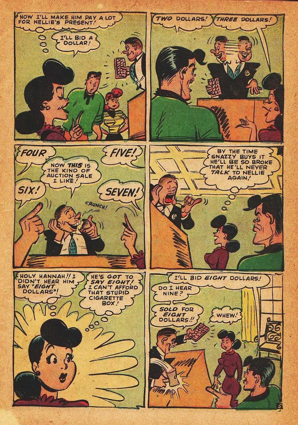 Read online Nellie The Nurse (1945) comic -  Issue #32 - 7