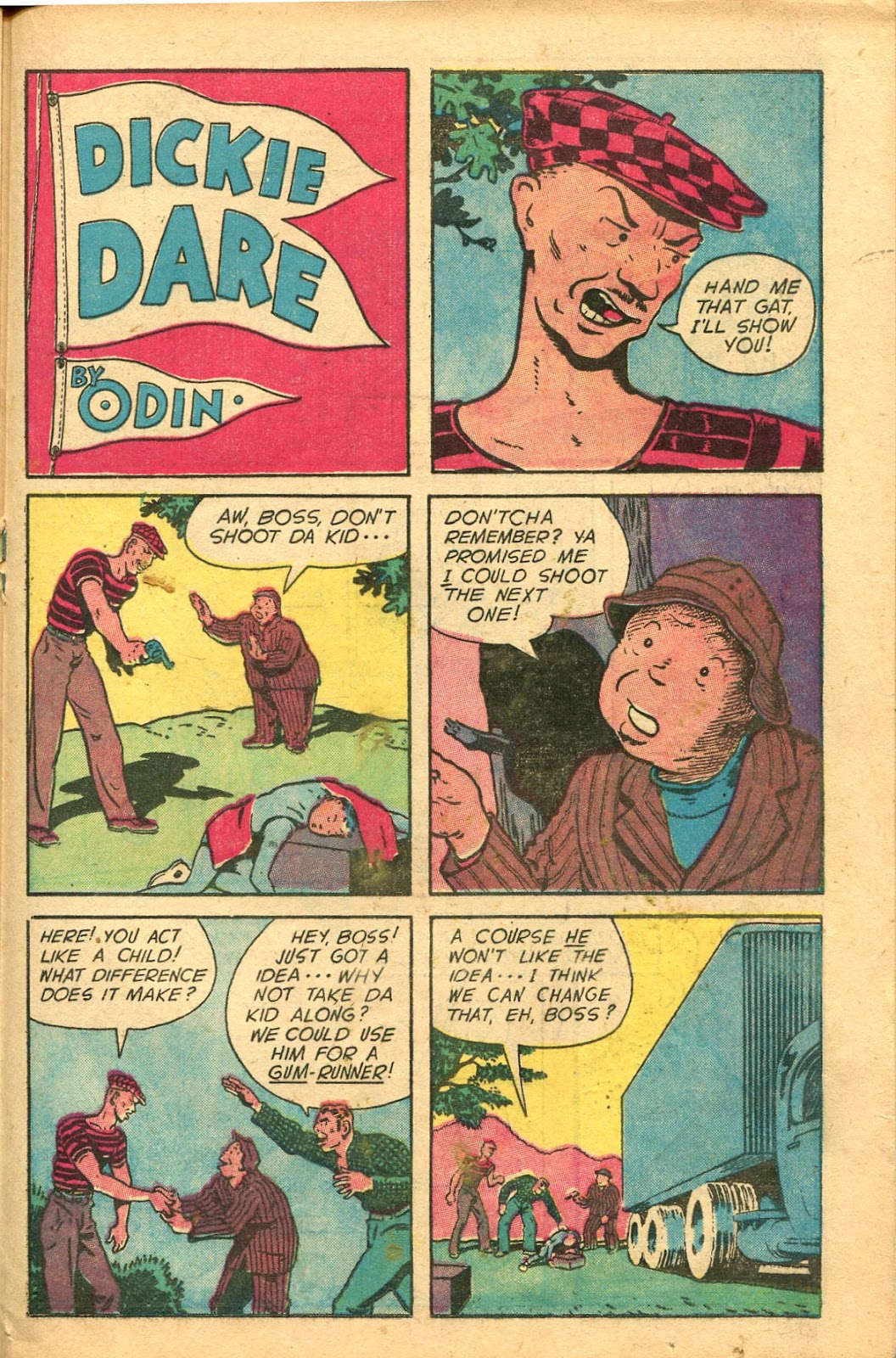 Read online Famous Funnies comic -  Issue #154 - 29