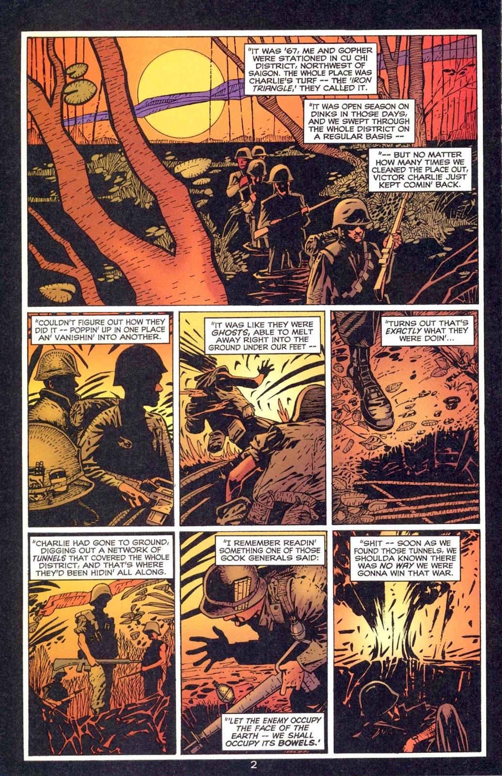 Read online Weird War Tales (1997) comic -  Issue #1 - 21