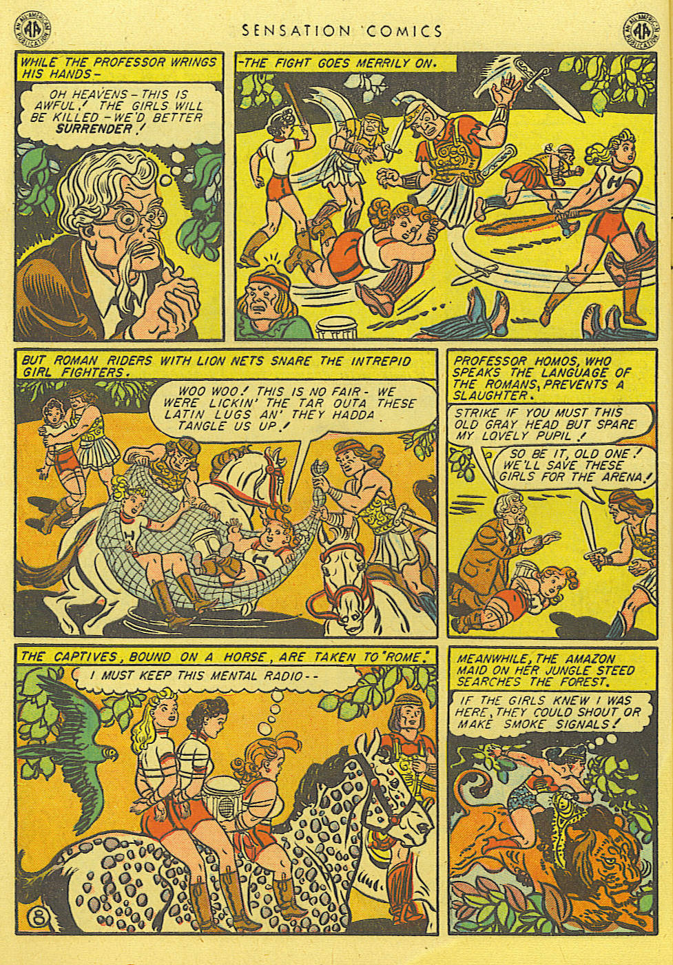 Read online Sensation (Mystery) Comics comic -  Issue #39 - 10