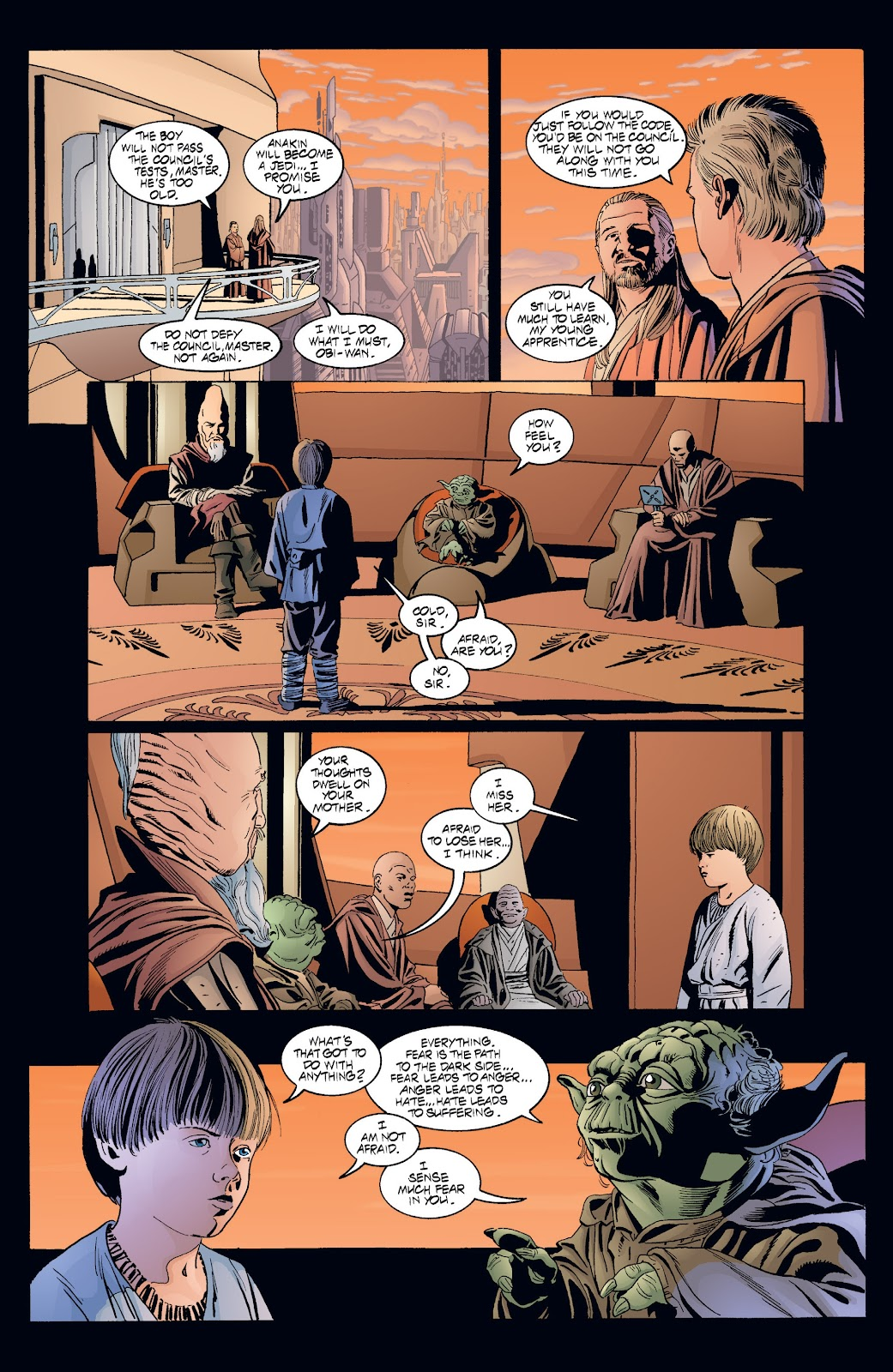 Read online Star Wars Legends: Rise of the Sith - Epic Collection comic -  Issue # TPB 2 (Part 4) - 5
