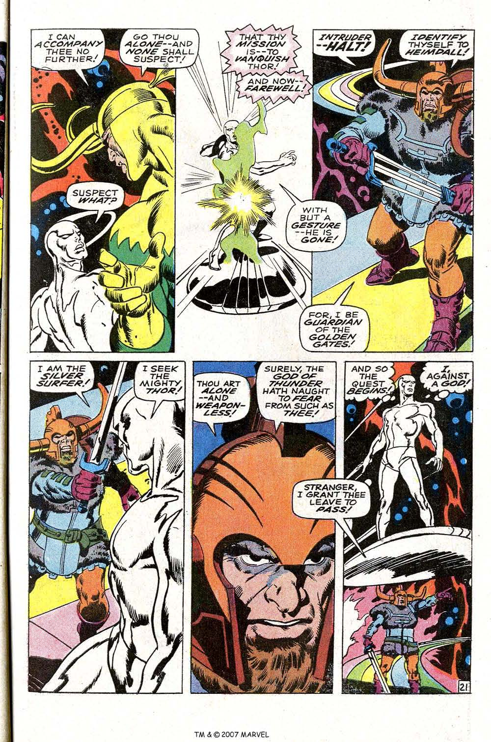 Read online Silver Surfer (1968) comic -  Issue #4 - 27